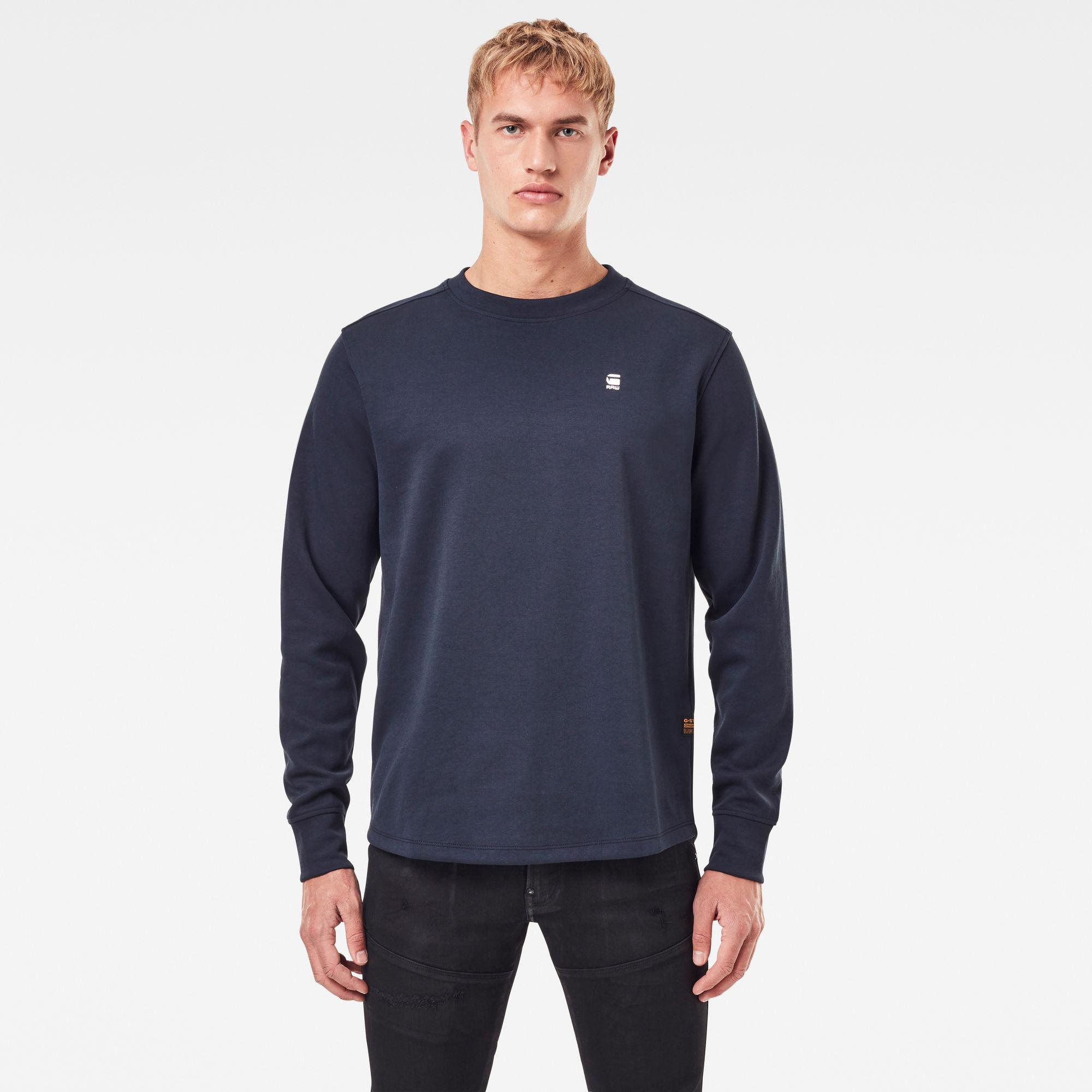 G-Star RAW Heren Lash Sweater Donkerblauw