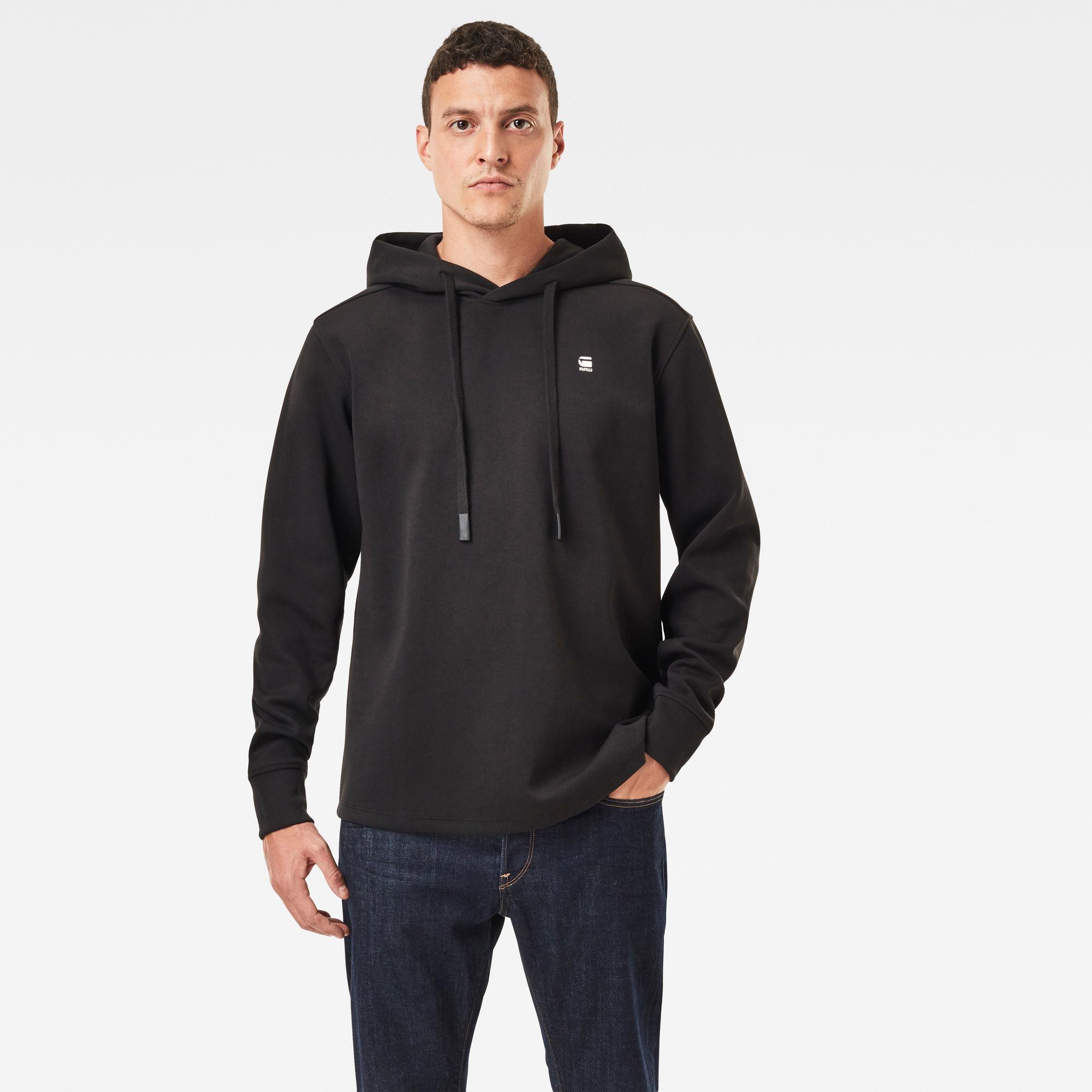 G-Star RAW Heren Lash Sweater Met Capuchon Zwart