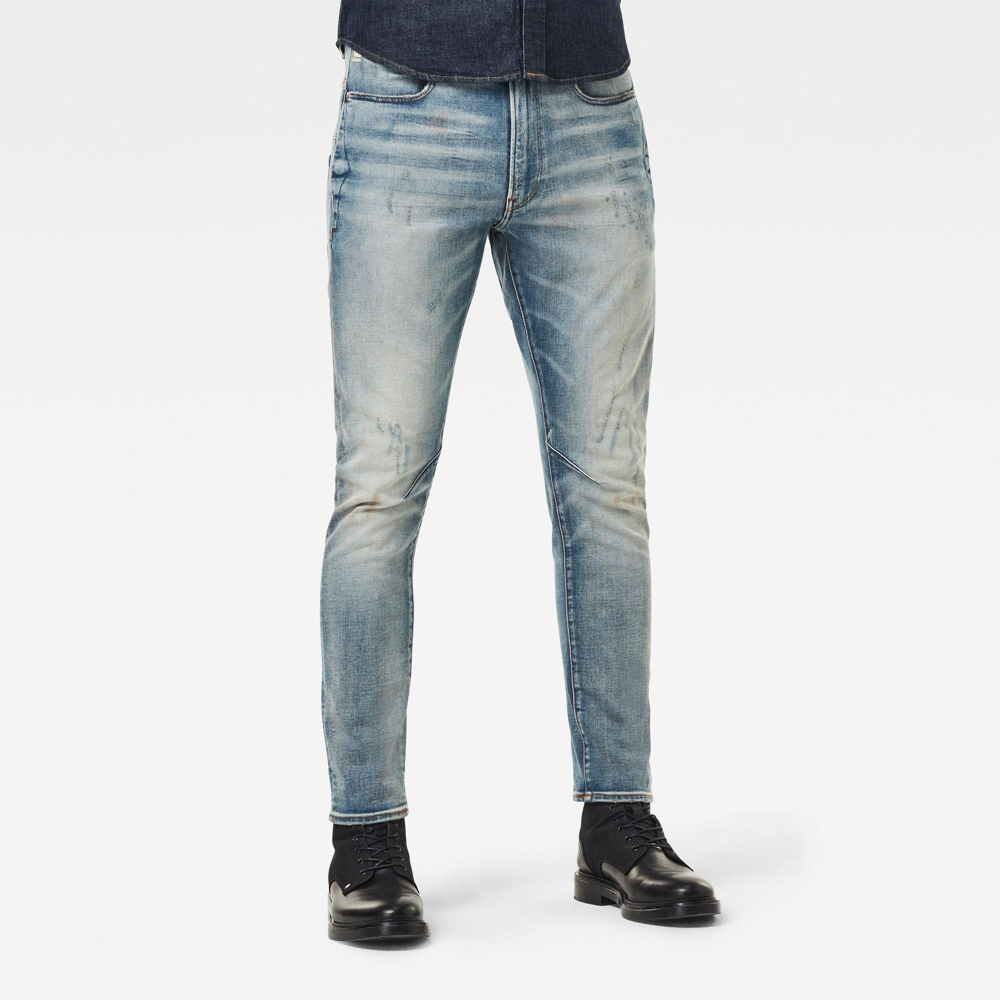 G-Star RAW Hombre Jeans D-Staq 3D Slim Azul intermedio