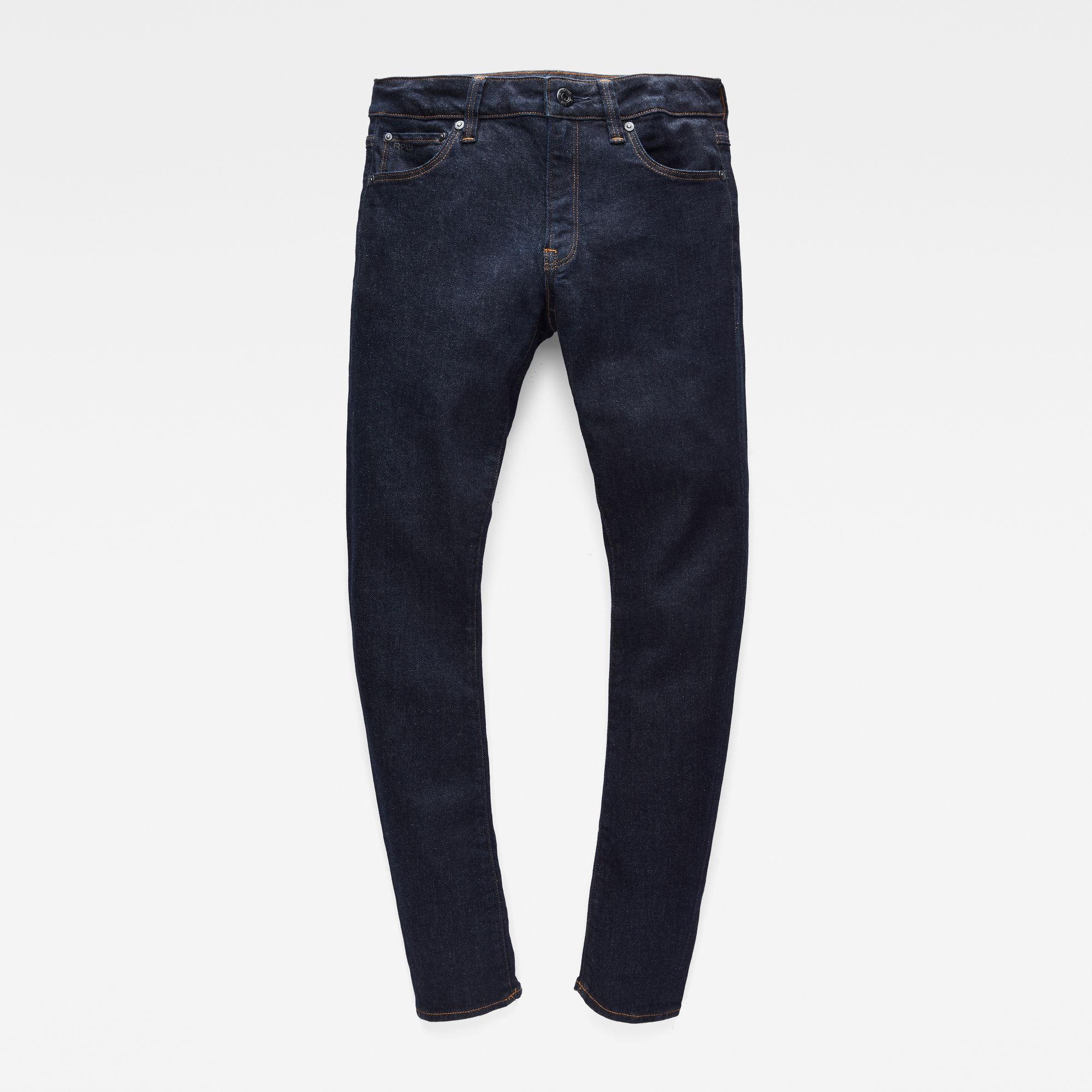 G-Star RAW Meisjes 3301 Skinny jeans Donkerblauw