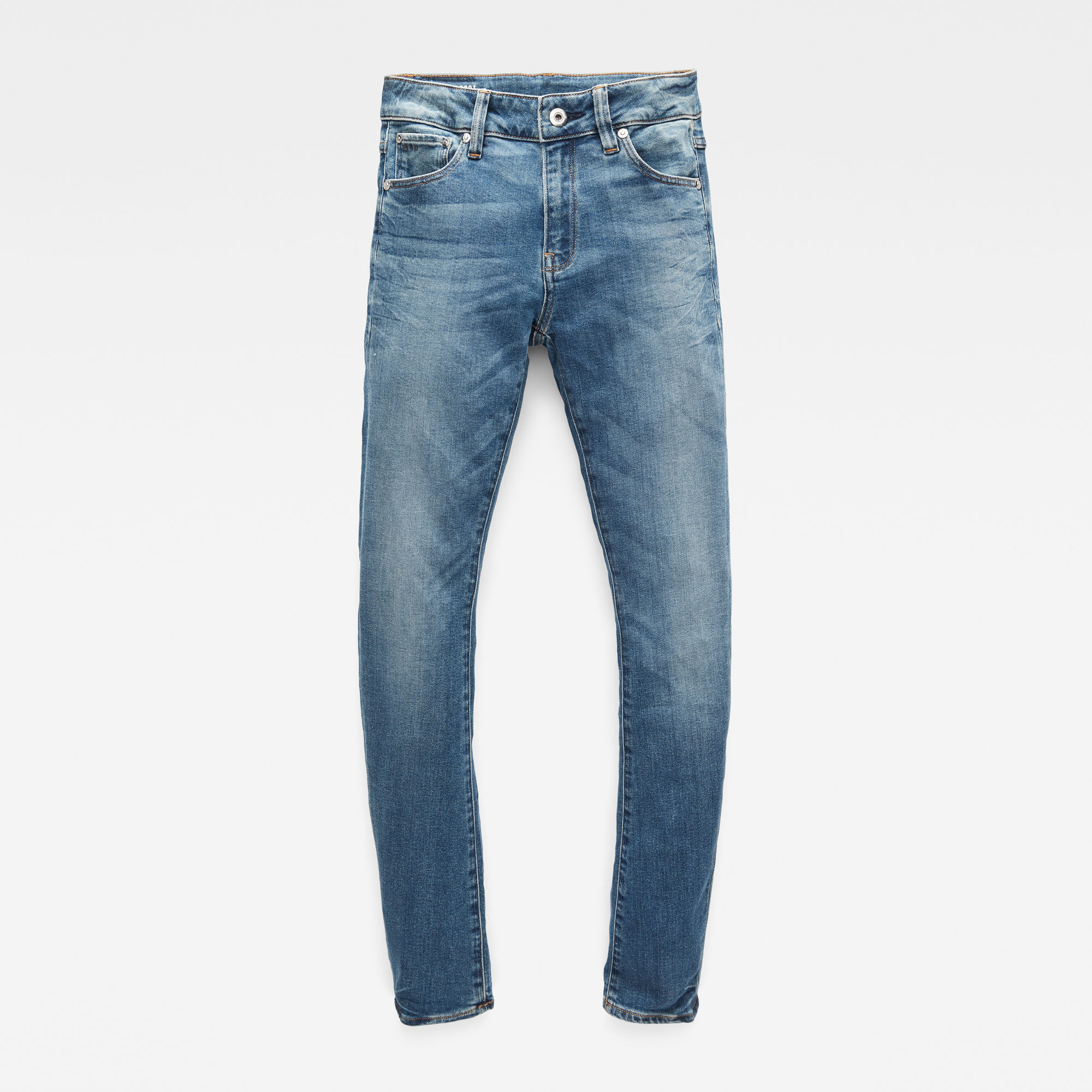 G-Star RAW Meisjes 3301 Skinny jeans Lichtblauw