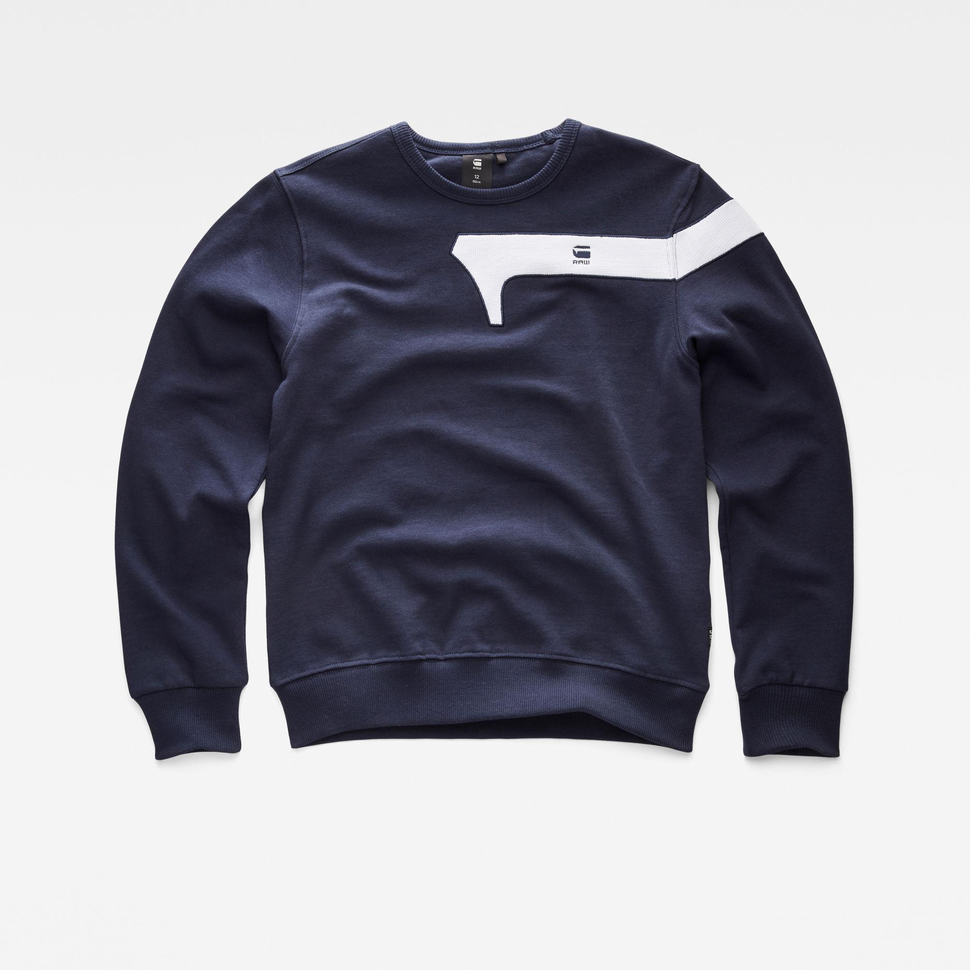 G-Star RAW Jongens Sweater Donkerblauw