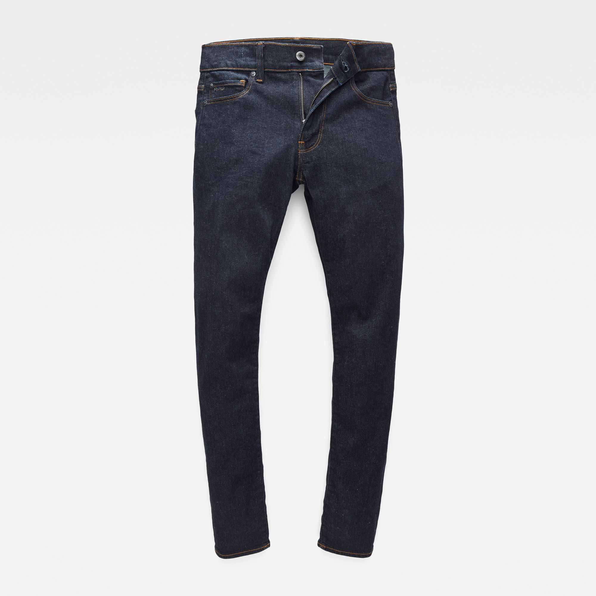 G-Star RAW Jongens 3301 Skinny jeans Donkerblauw