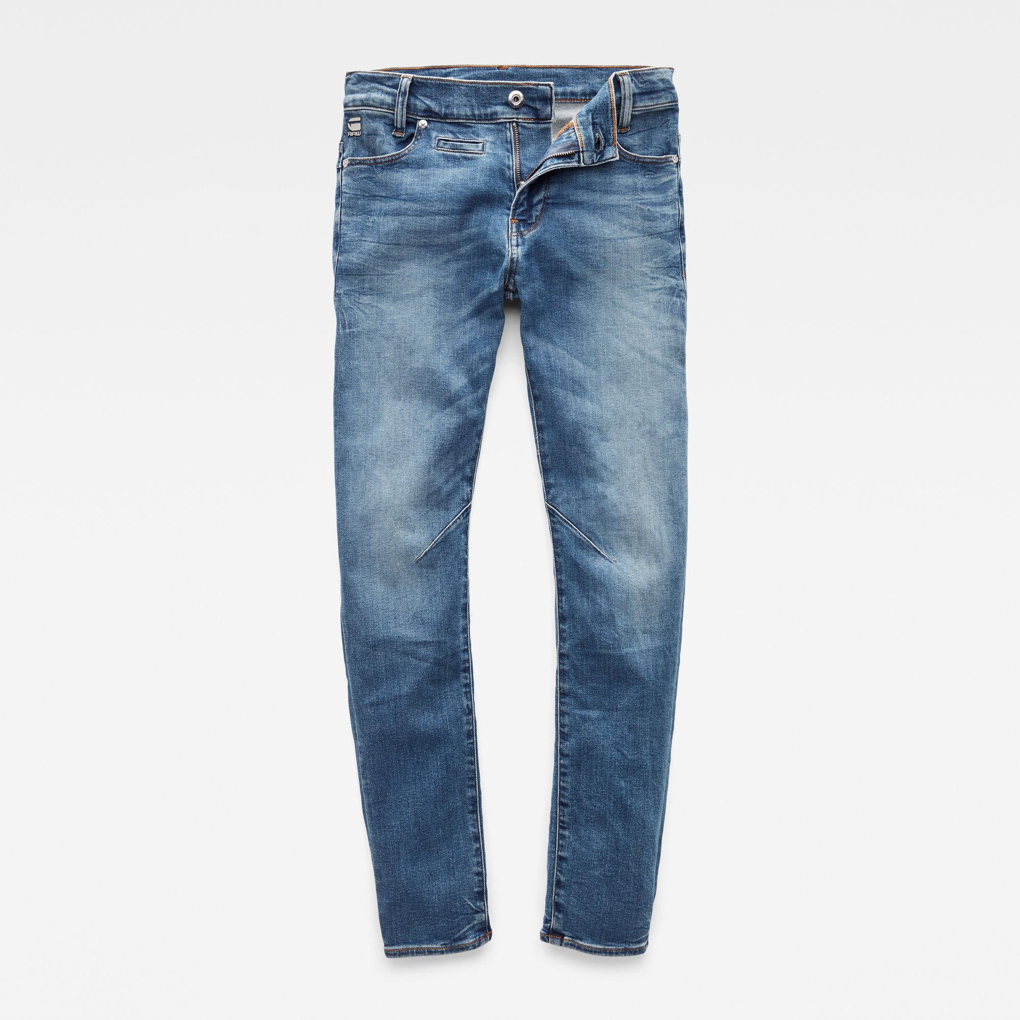 G-Star RAW Jongens D-Staq Slim jeans Blauw