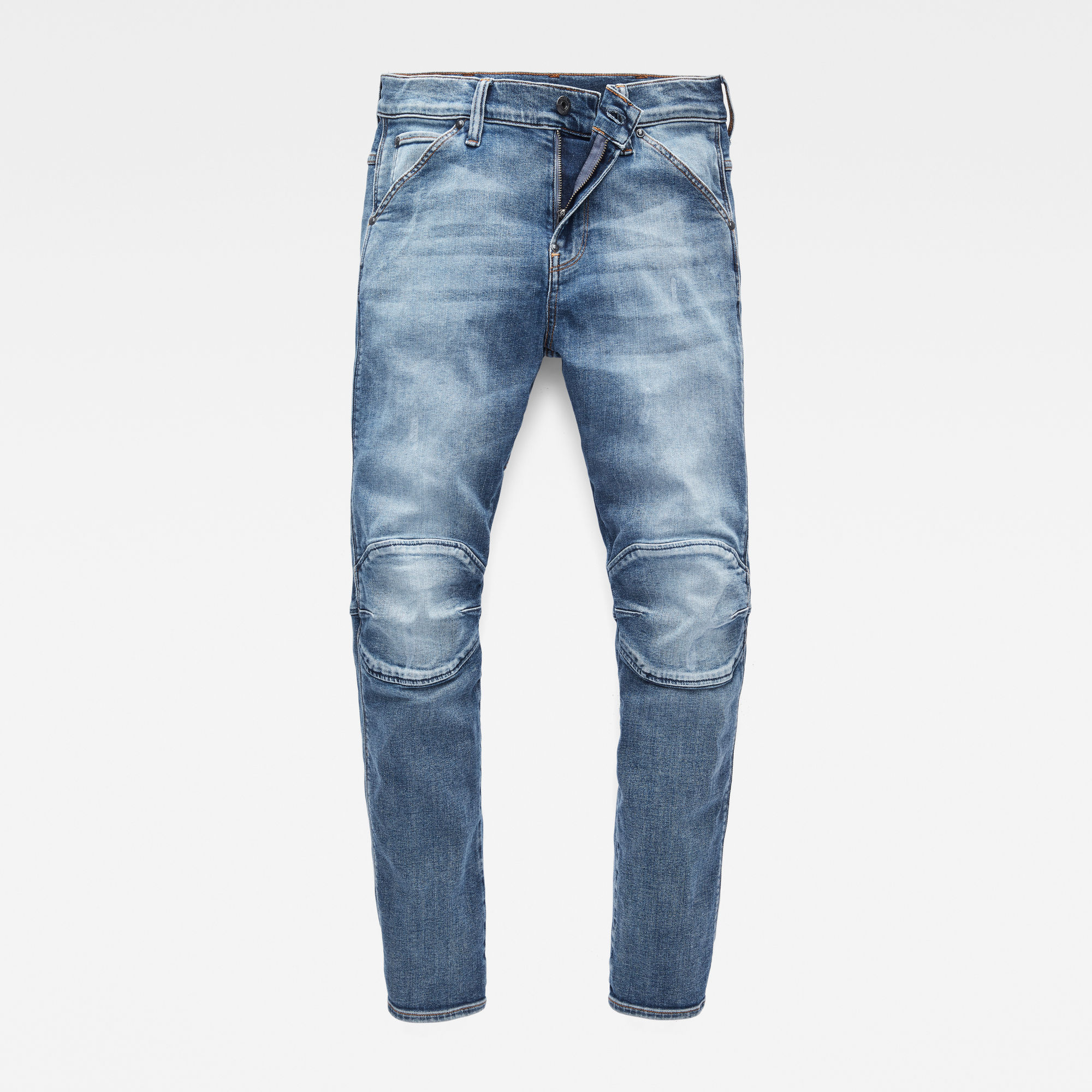 G-Star RAW Jongens 5622 G-Star Elwood Slim jeans Blauw