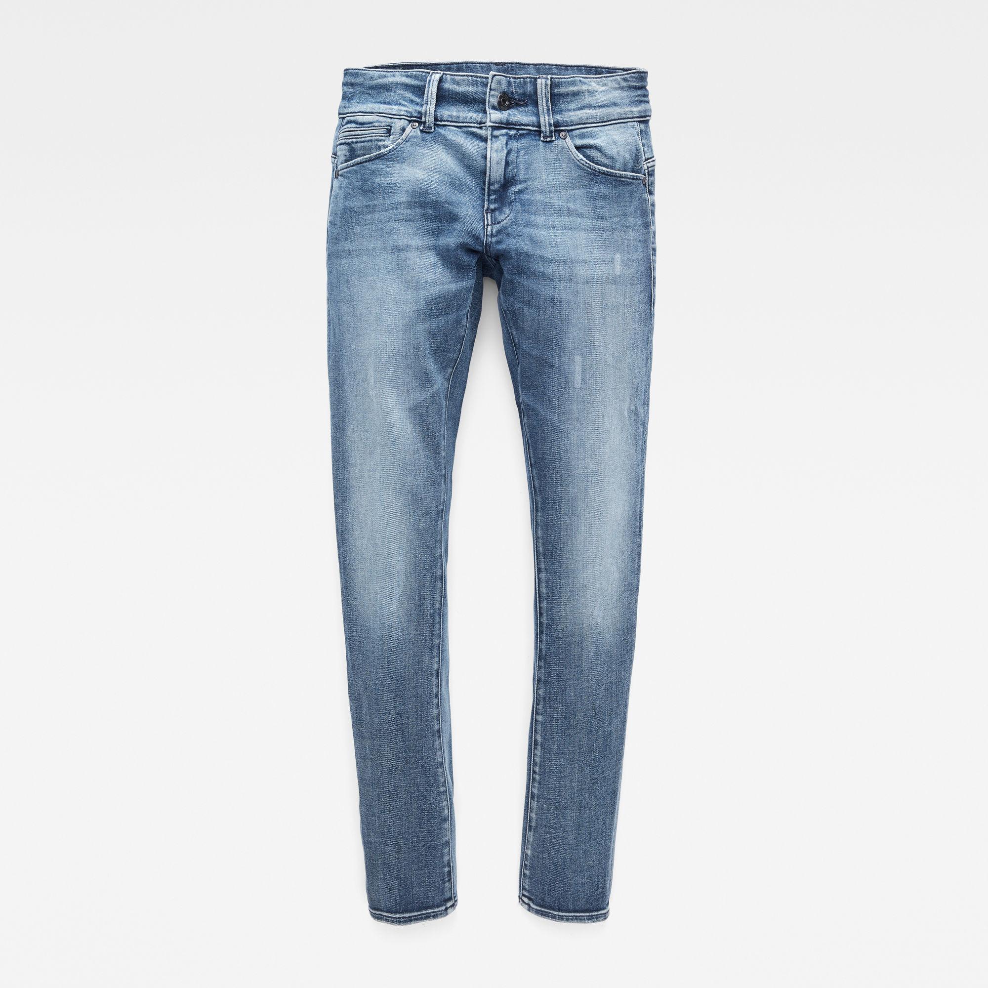 G-Star RAW Meisjes Midge Skinny Jeans Blauw