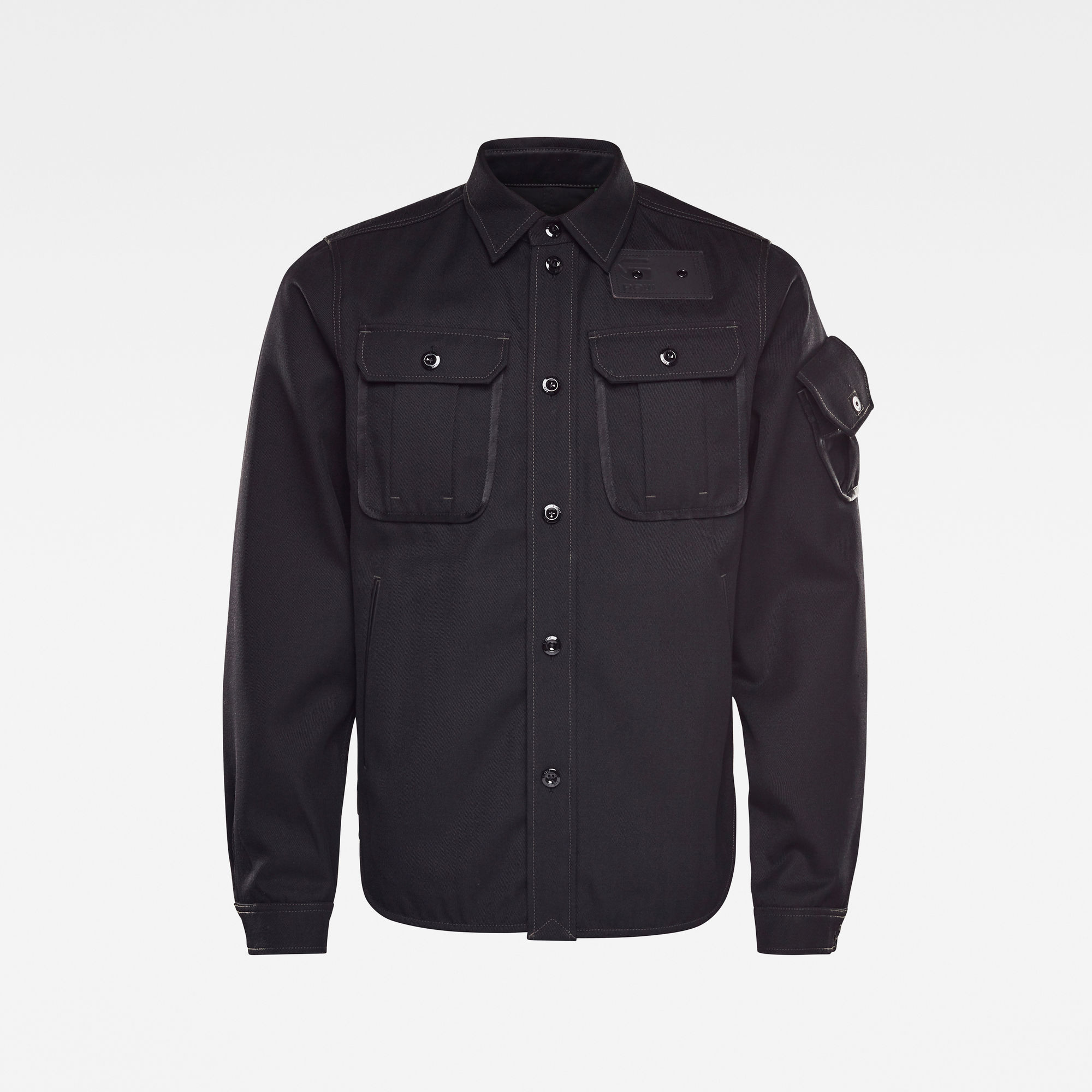 G-Star RAW Heren E Overshirt Zwart