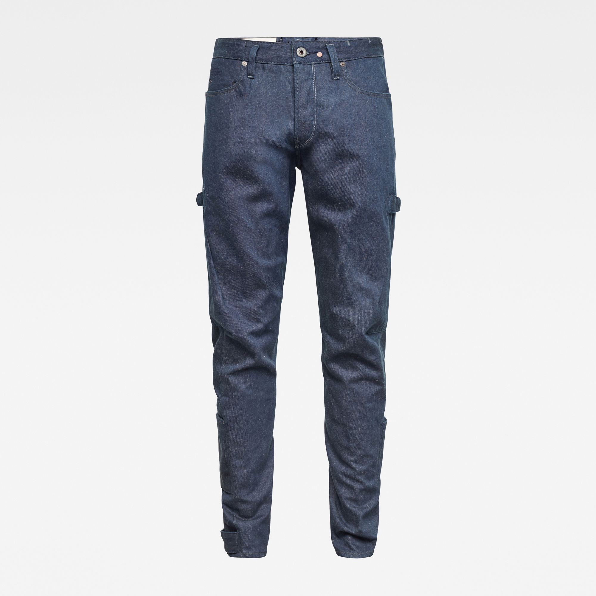 G-Star RAW Heren GSRR Scutar 3D Tapered Selvedge Jeans Donkerblauw