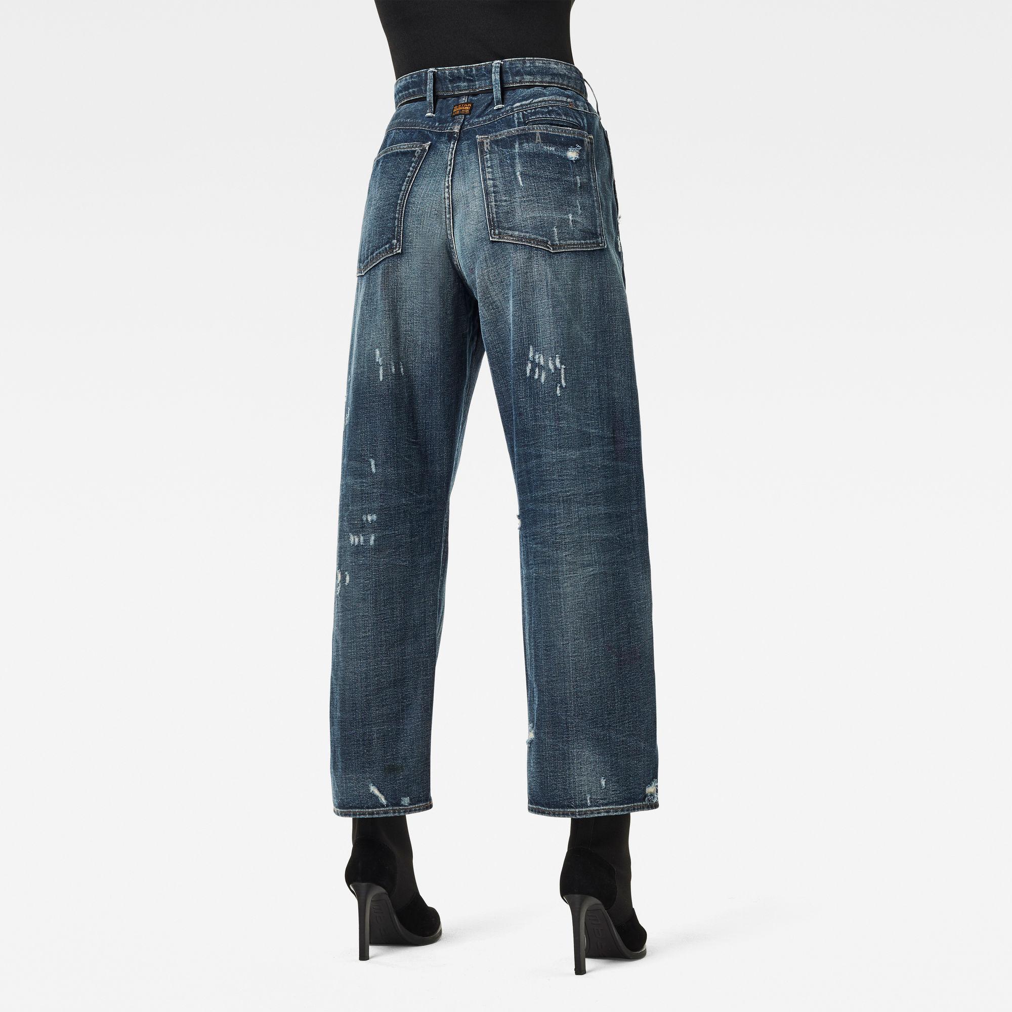 G-Star RAW Dames Lintell High Dad Jeans Blauw