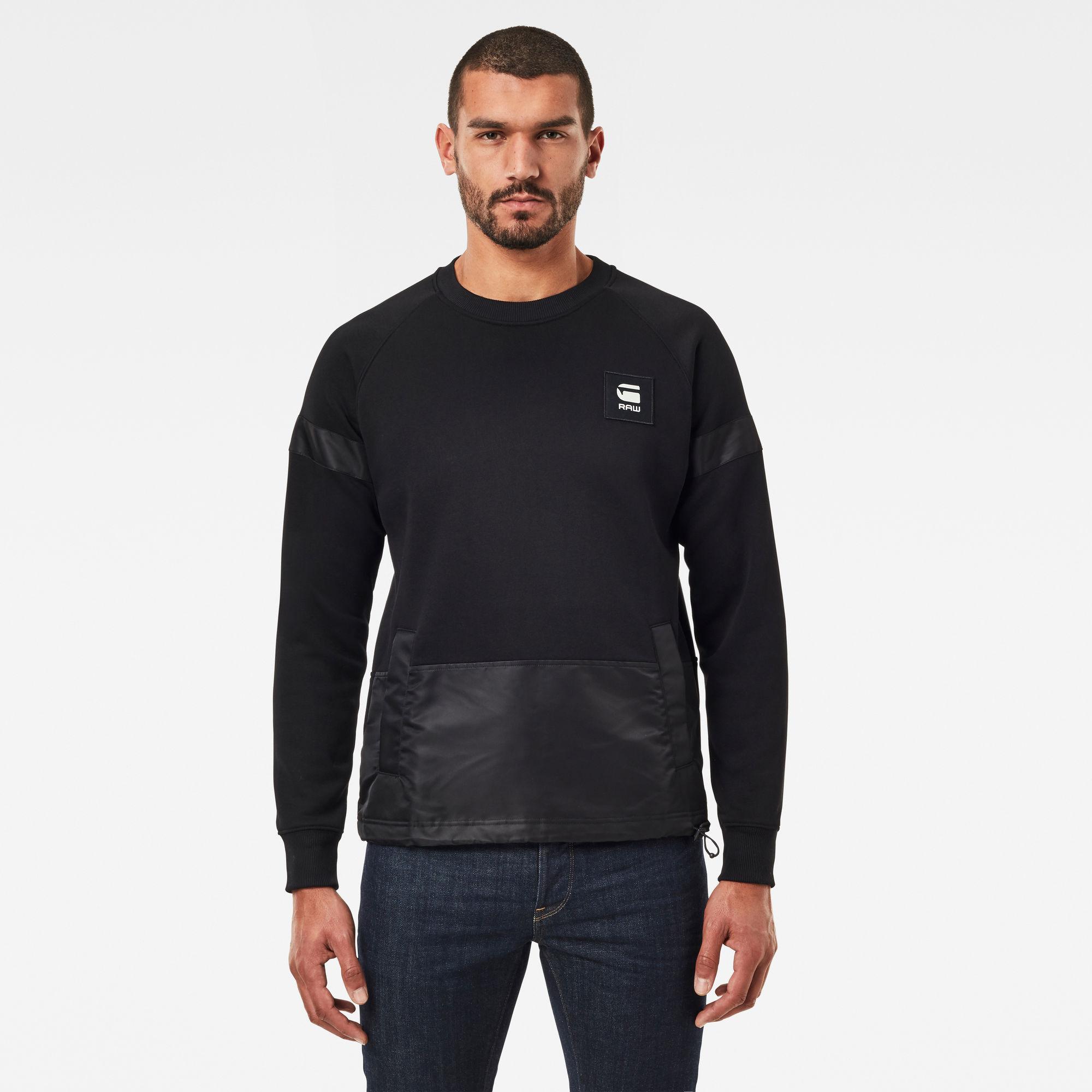 G-Star RAW Heren PM Sweater Zwart