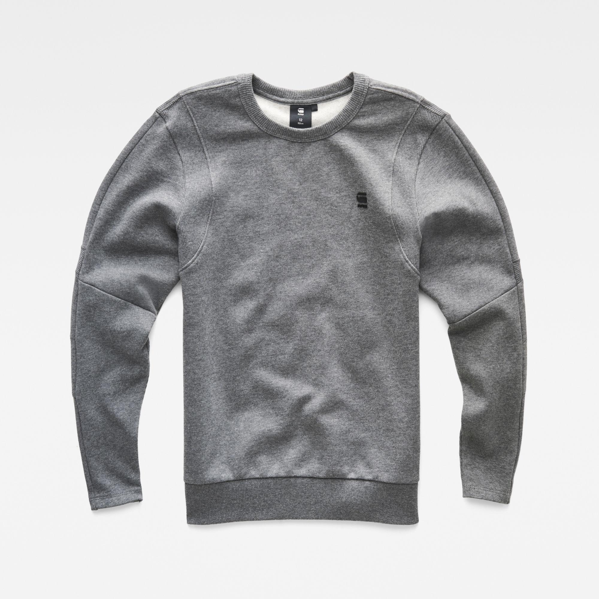 G-Star RAW Jongens Sweater Grijs