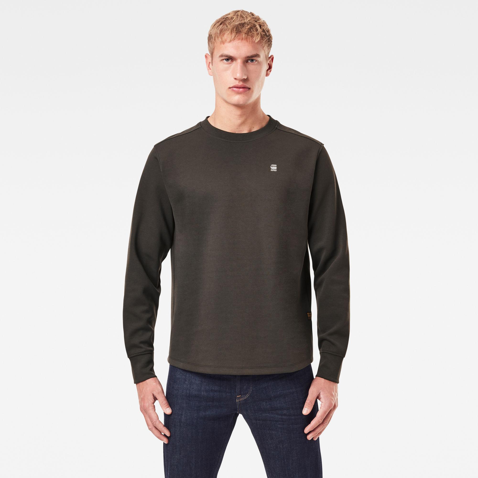 G-Star RAW Heren Lash Sweater Grijs