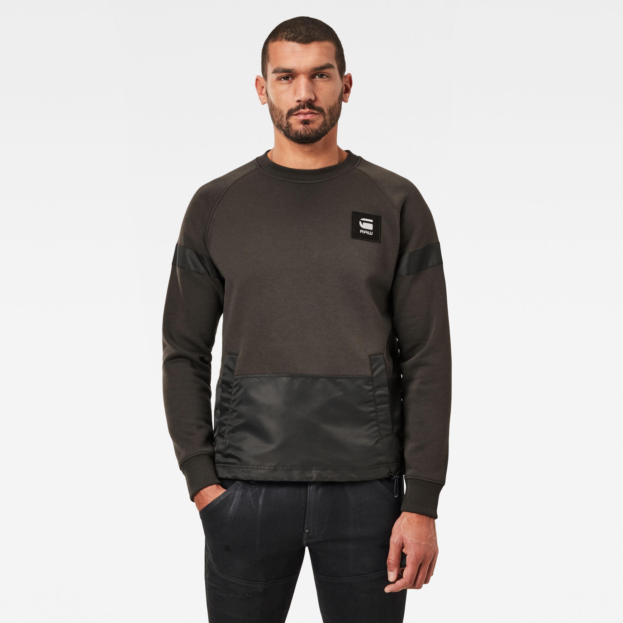 G-Star RAW Heren PM Sweater Grijs