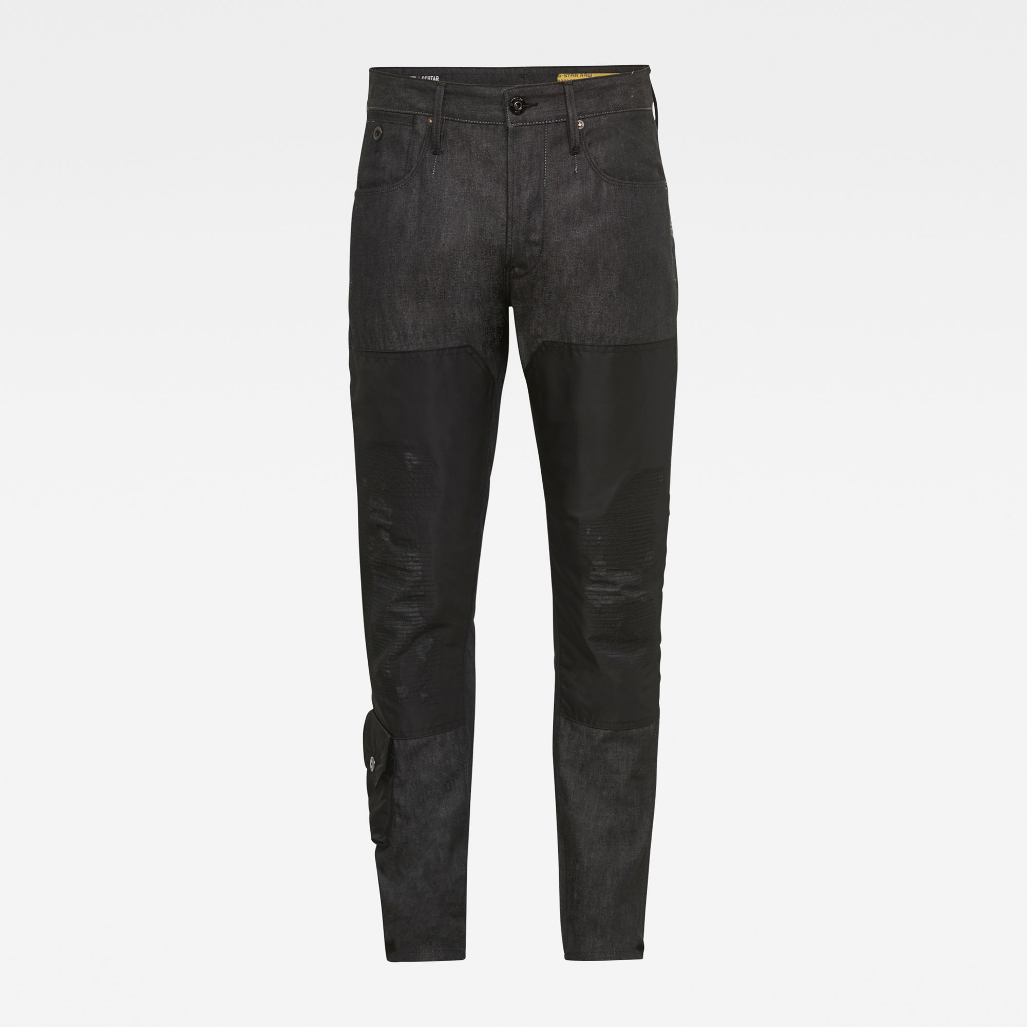 G-Star RAW Heren E Loic Relaxed Tapered PM Jeans Zwart