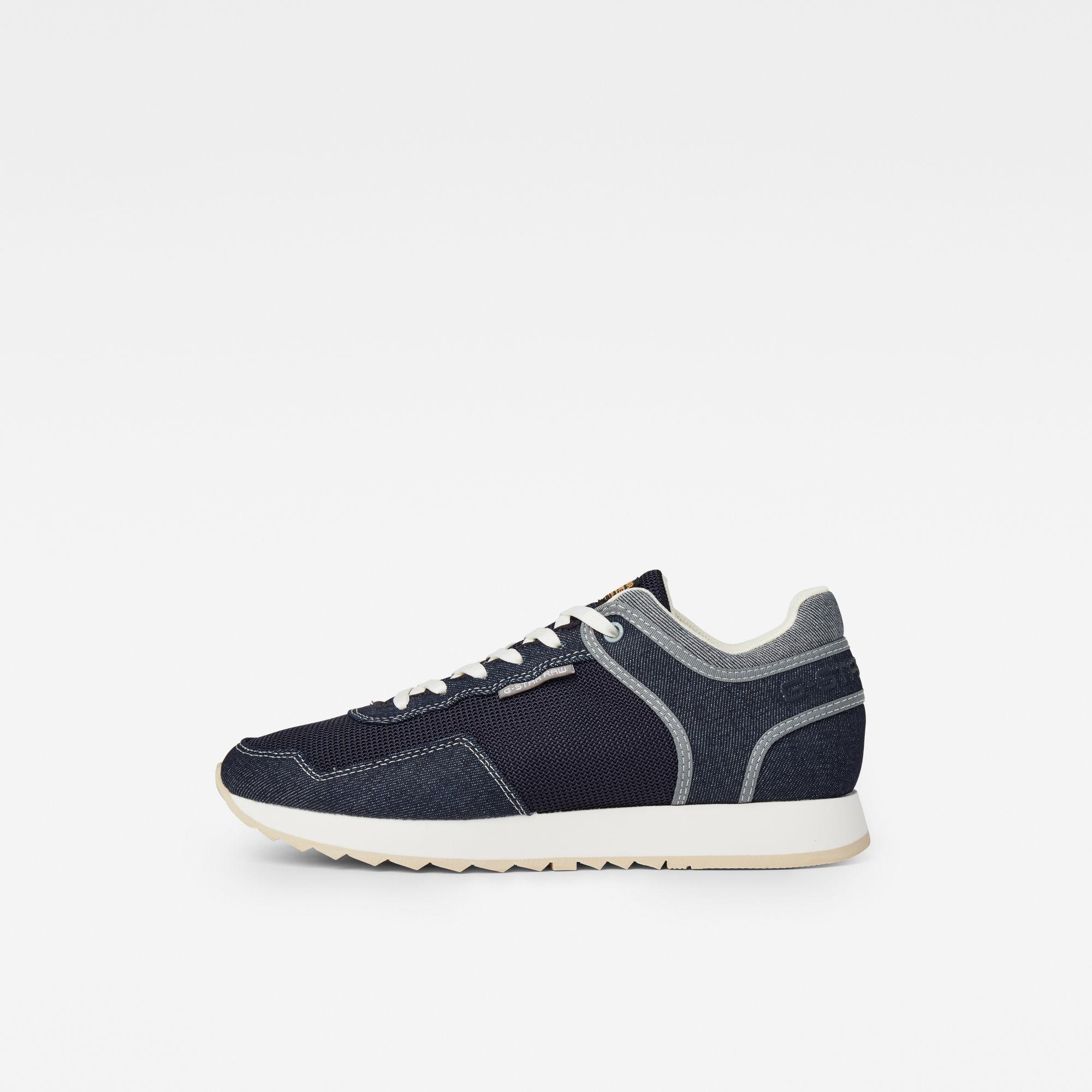G-Star RAW Heren Calow Sneakers Donkerblauw