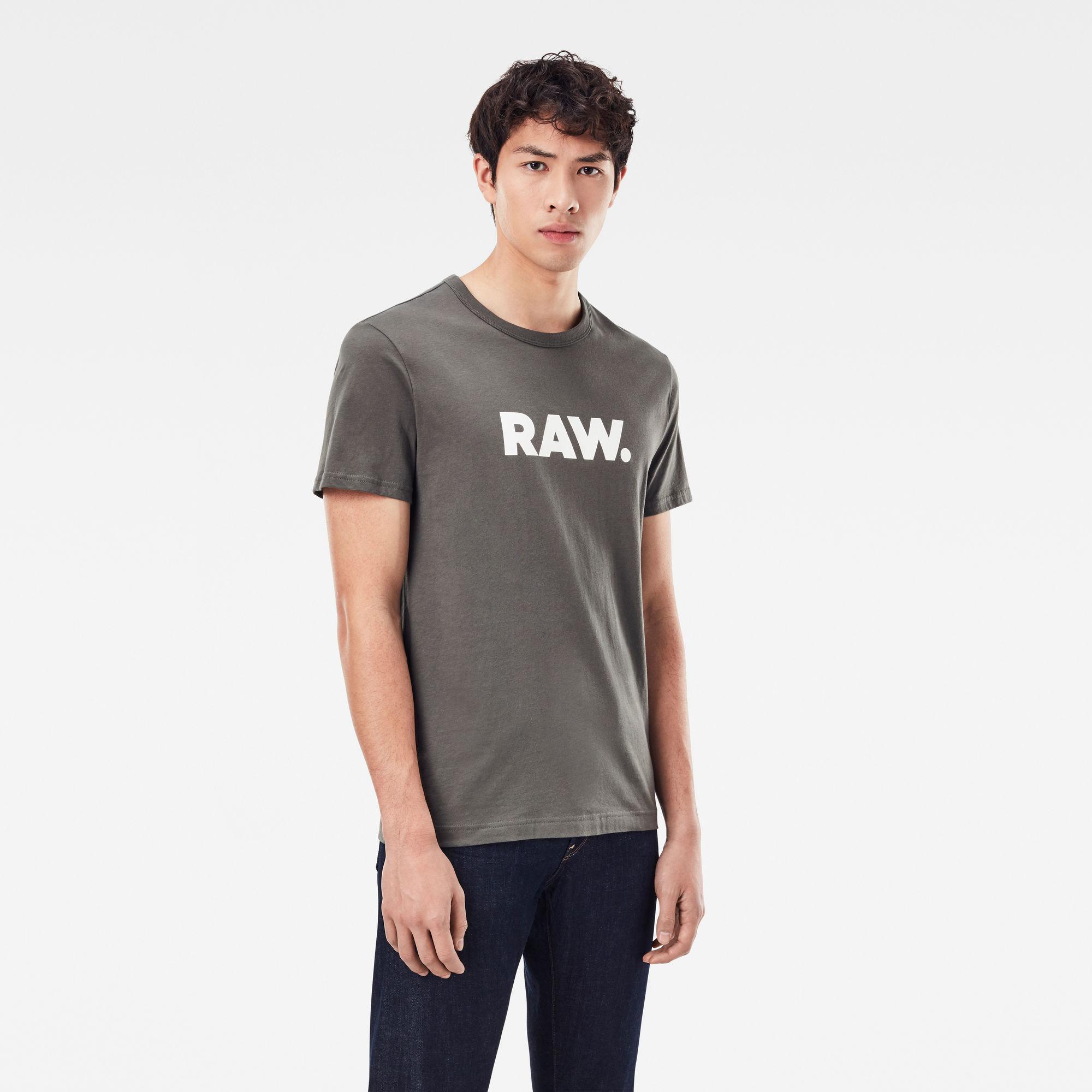 G-Star RAW Heren Holorn T-Shirt Grijs
