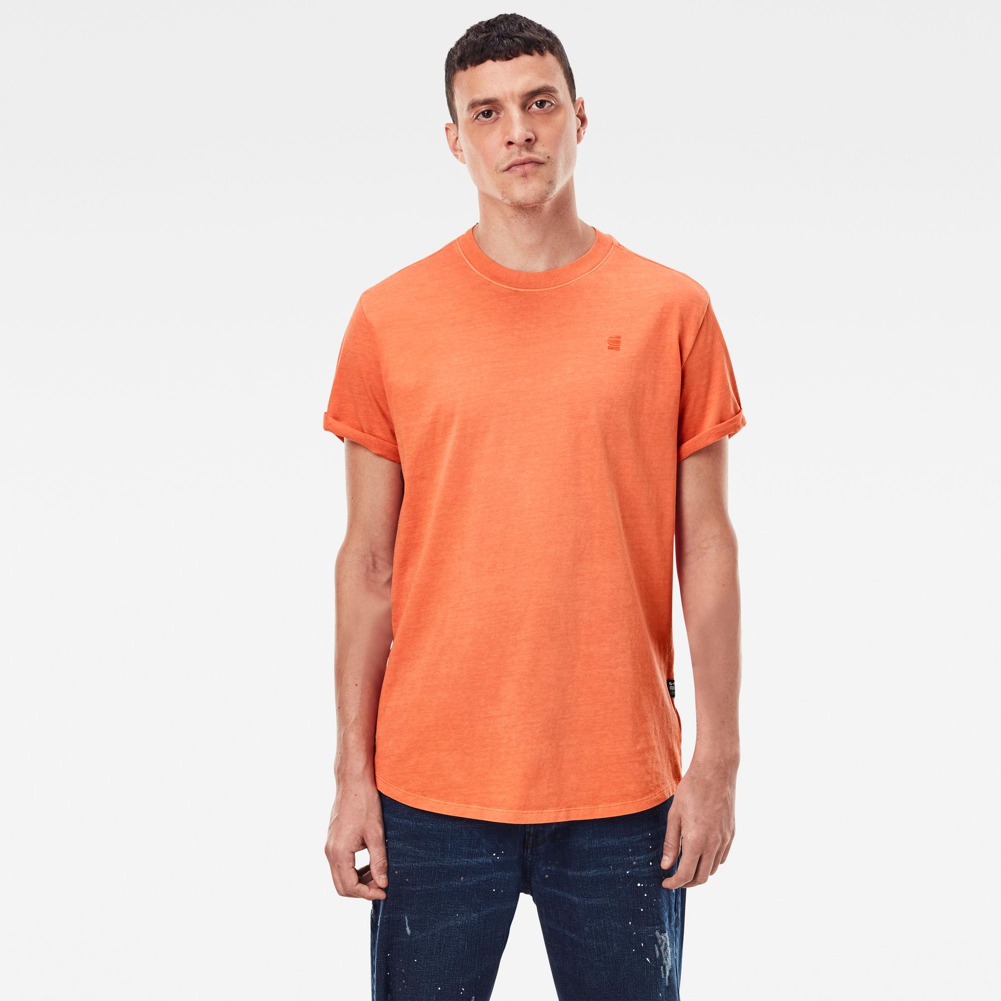 G-Star RAW Heren Lash T-Shirt Oranje