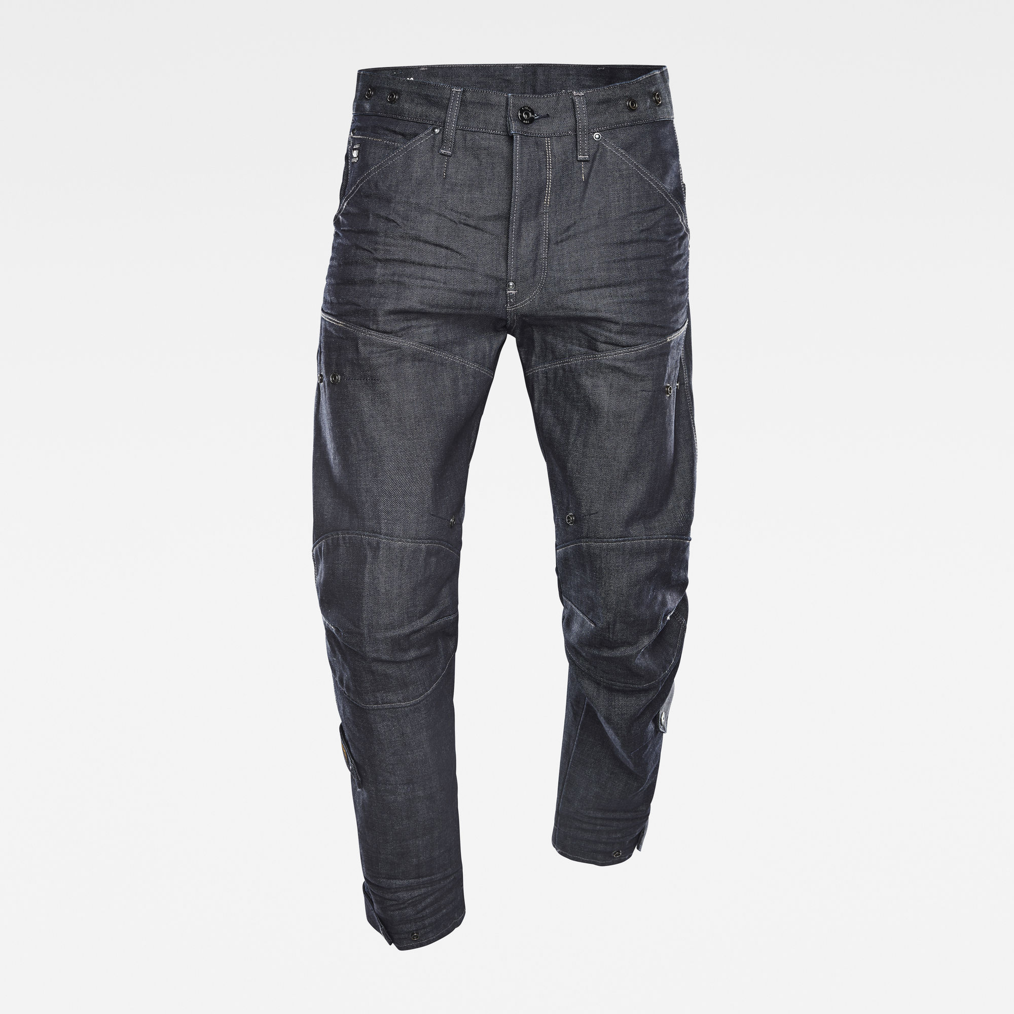 G-Star RAW Heren E 5620 3D Original Relaxed Adjuster Jeans Donkerblauw