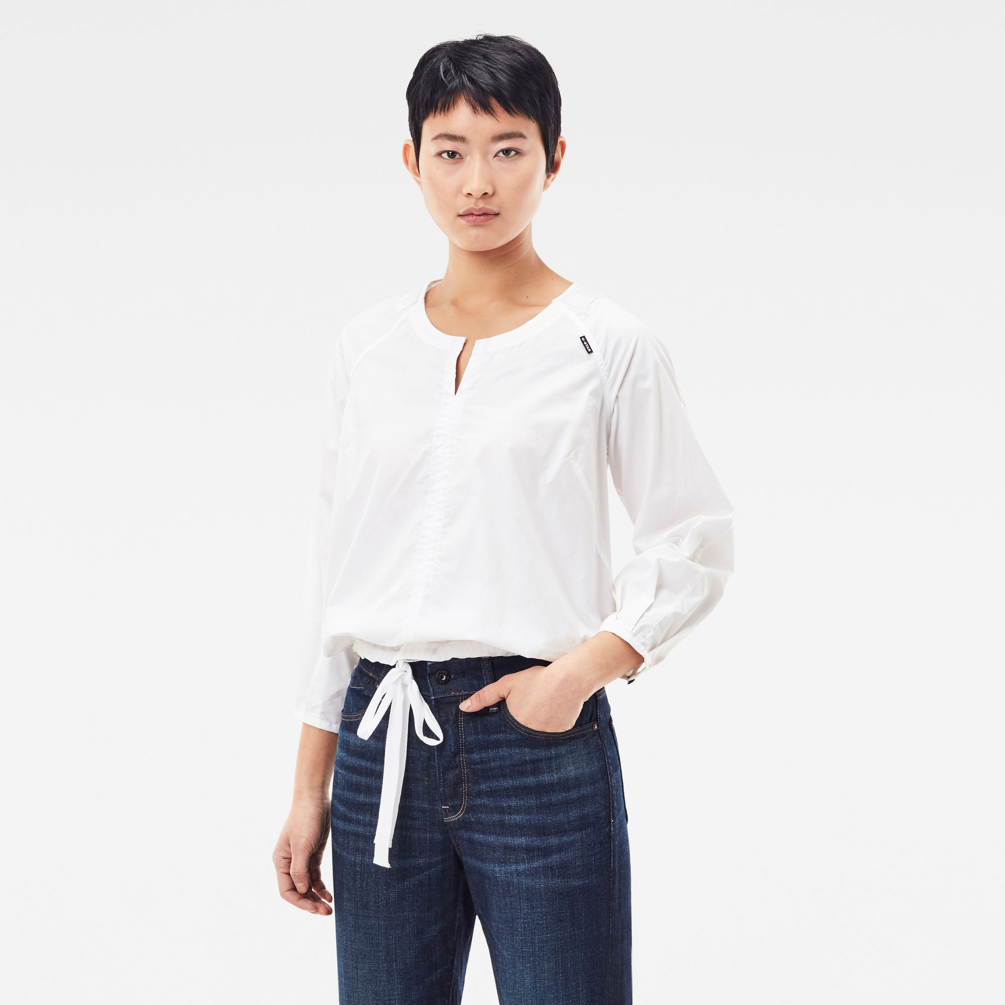 G-Star RAW Dames Shell Top Wit