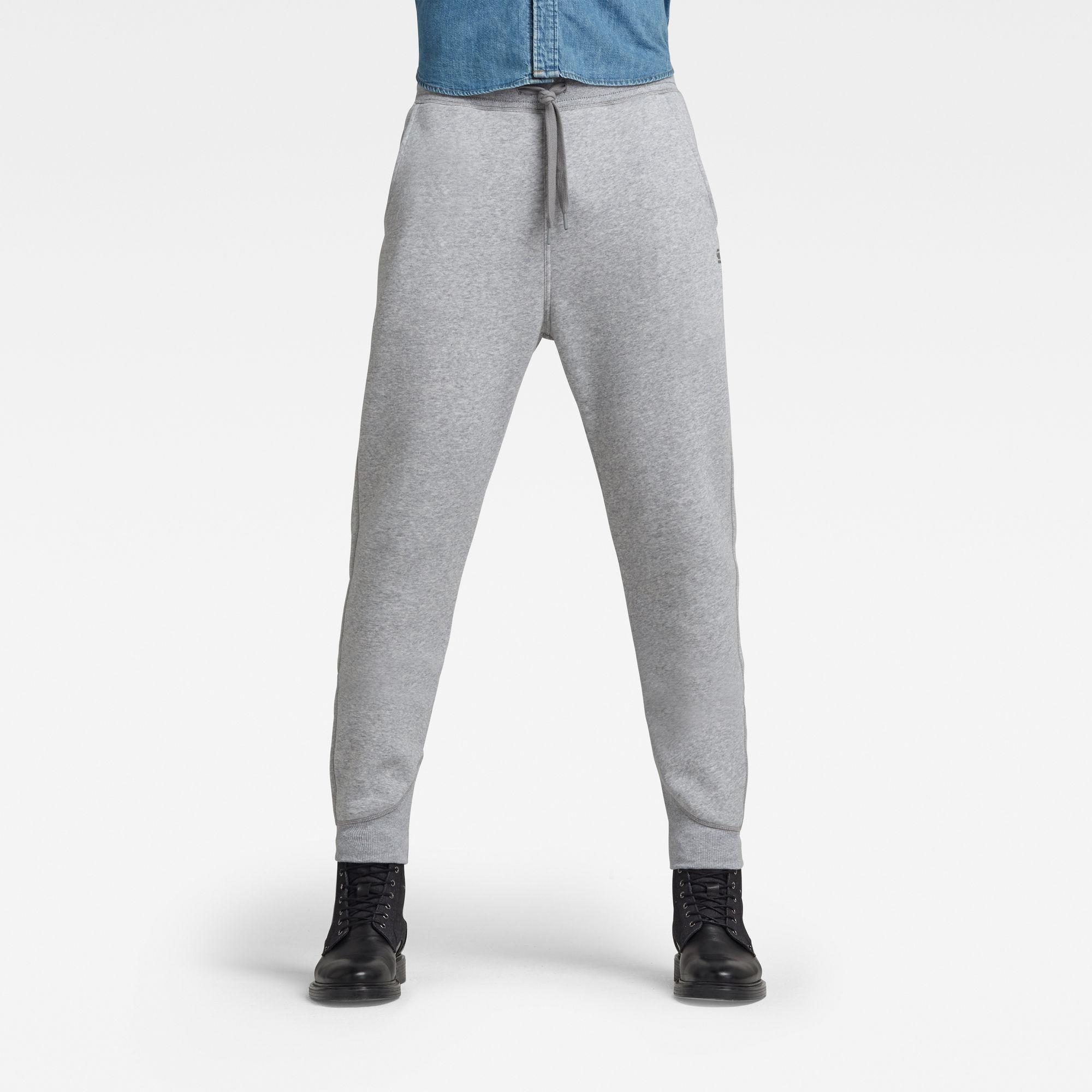 G-Star RAW Heren Premium Core Type C Sweatpants Grijs