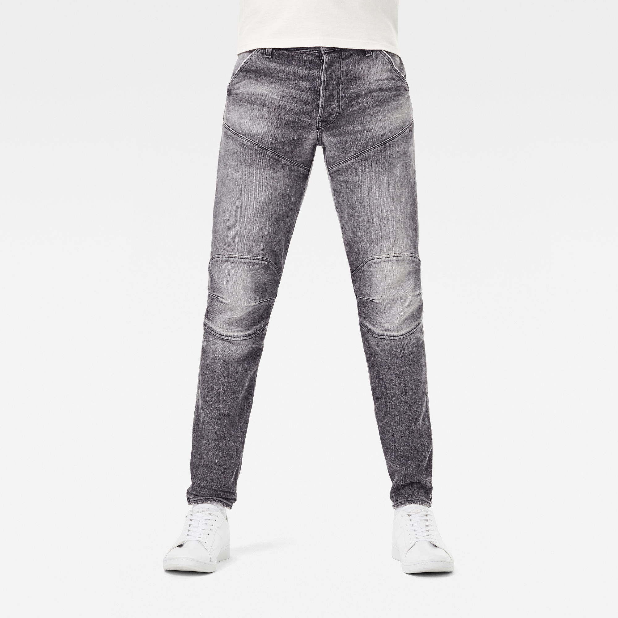 G-Star RAW Heren 5620 3D Slim Jeans Grijs