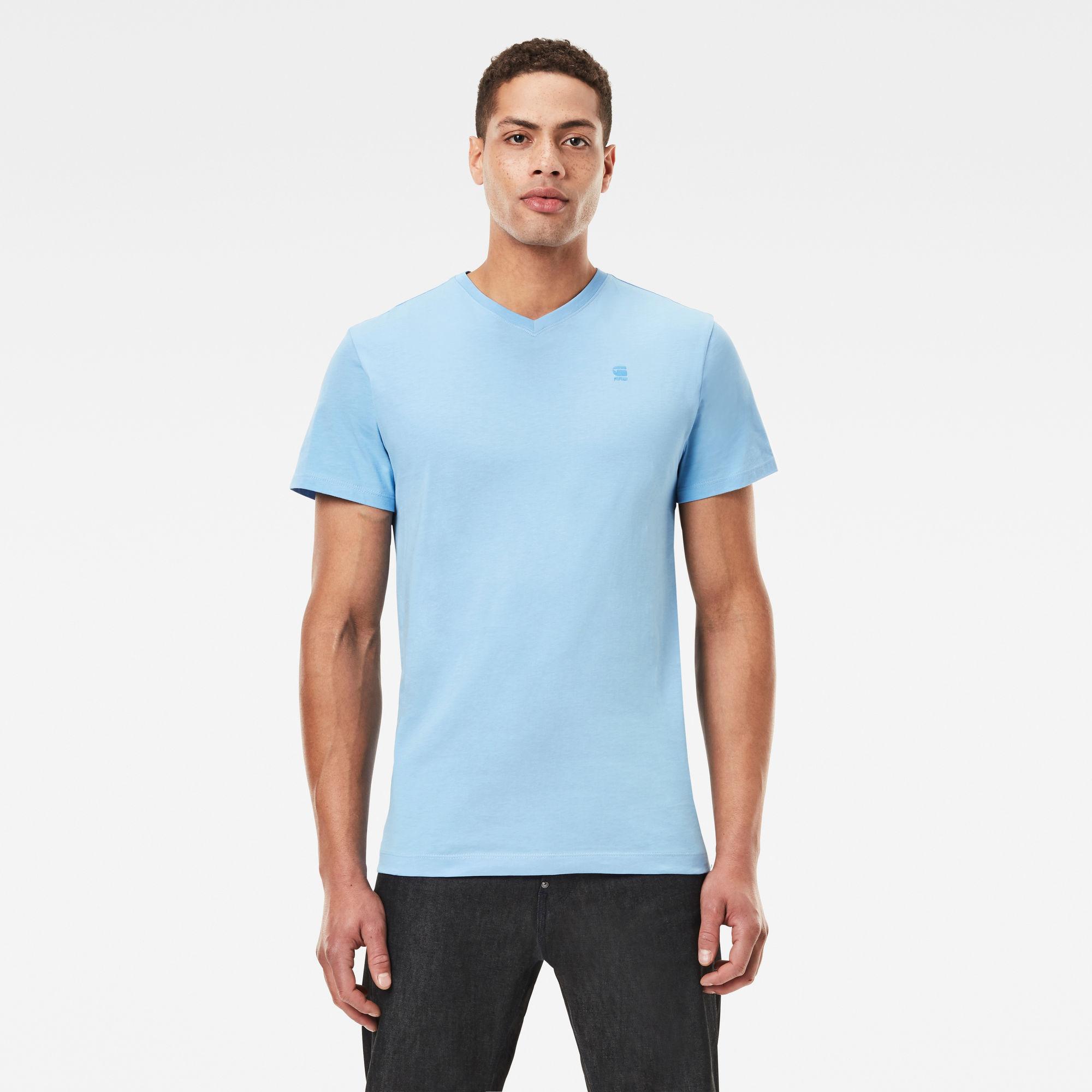 G-Star RAW Heren Base-S T-Shirt Blauw