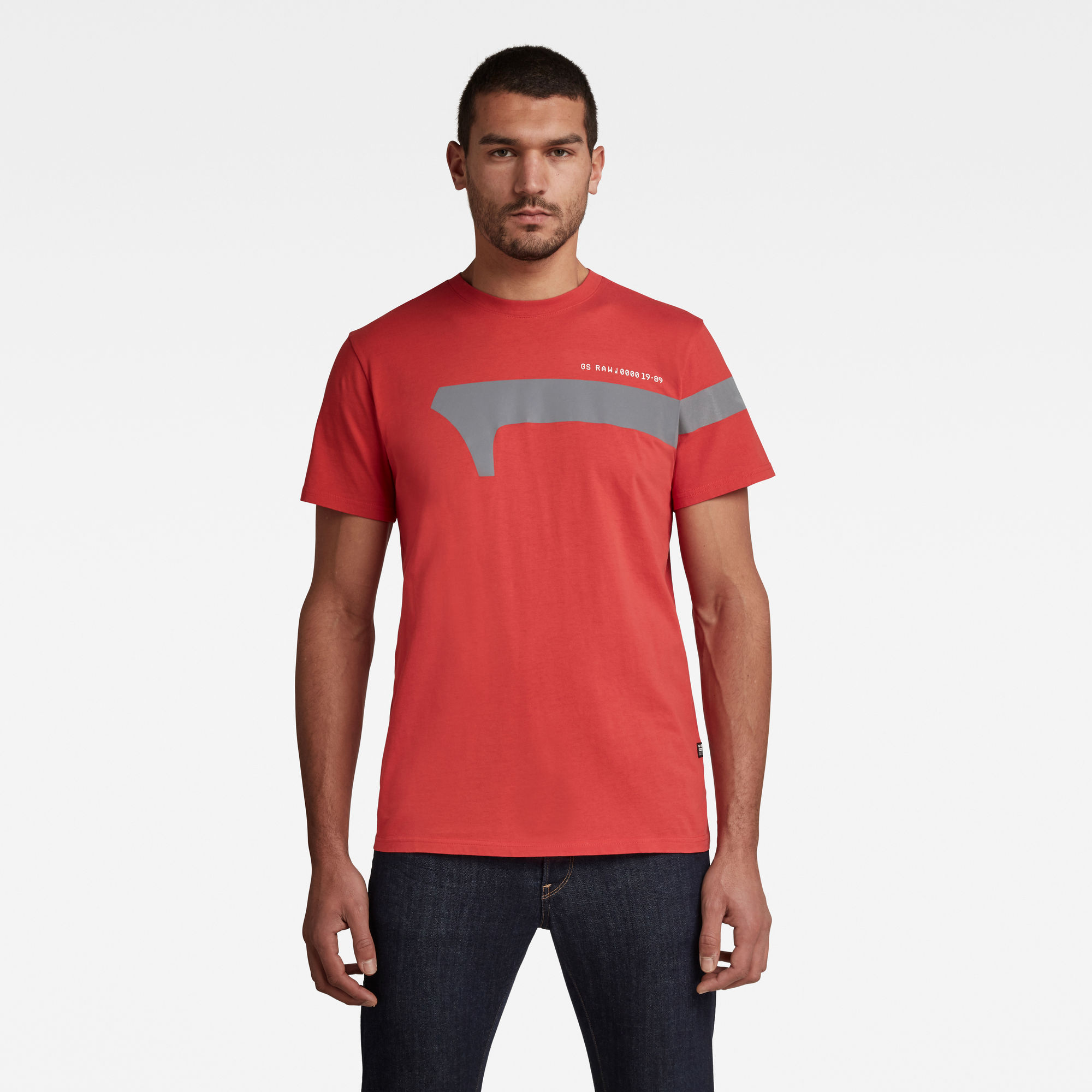 1 Reflective Graphic T Shirt Rood