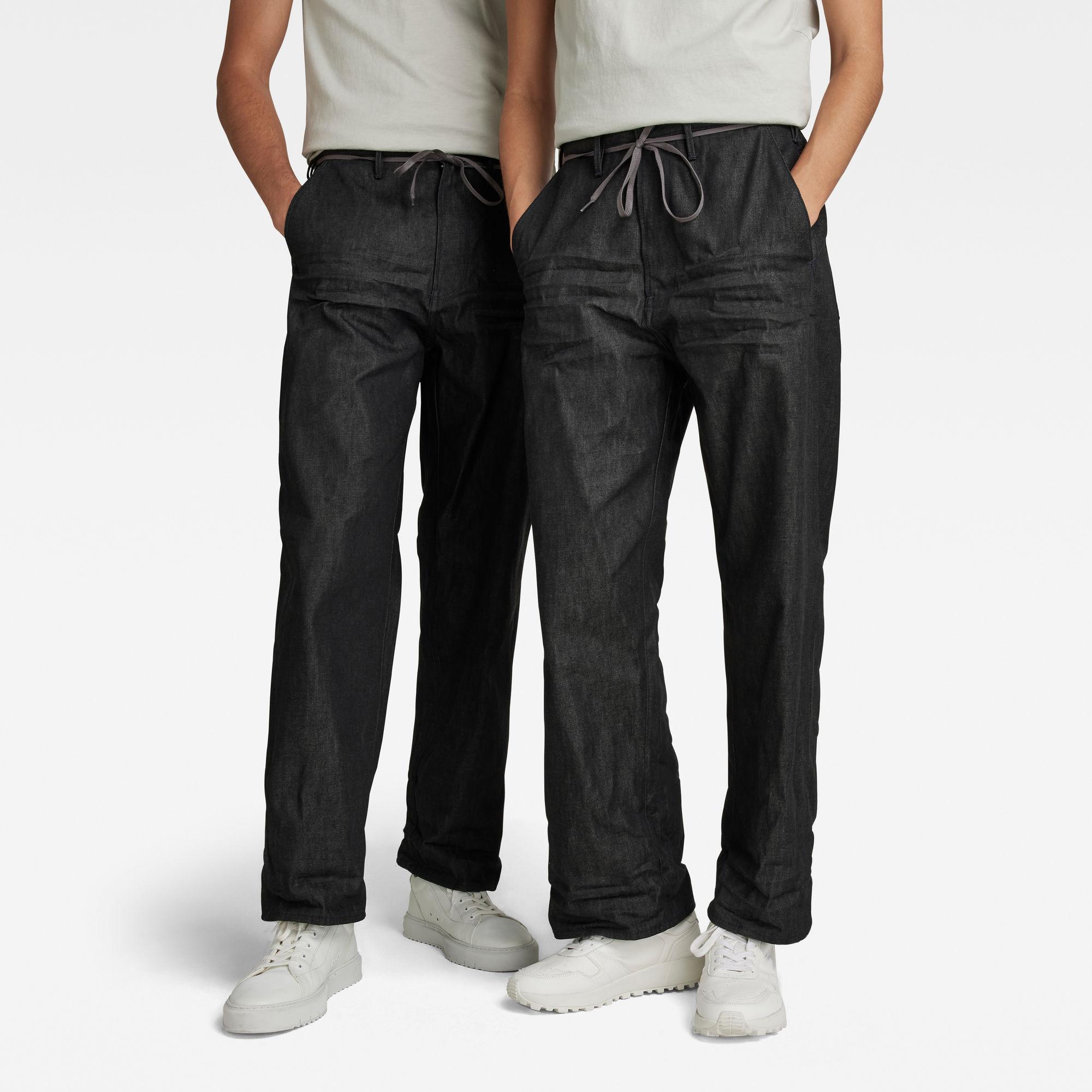 G-Star RAW Dames Lintell High Dad Jeans Zwart