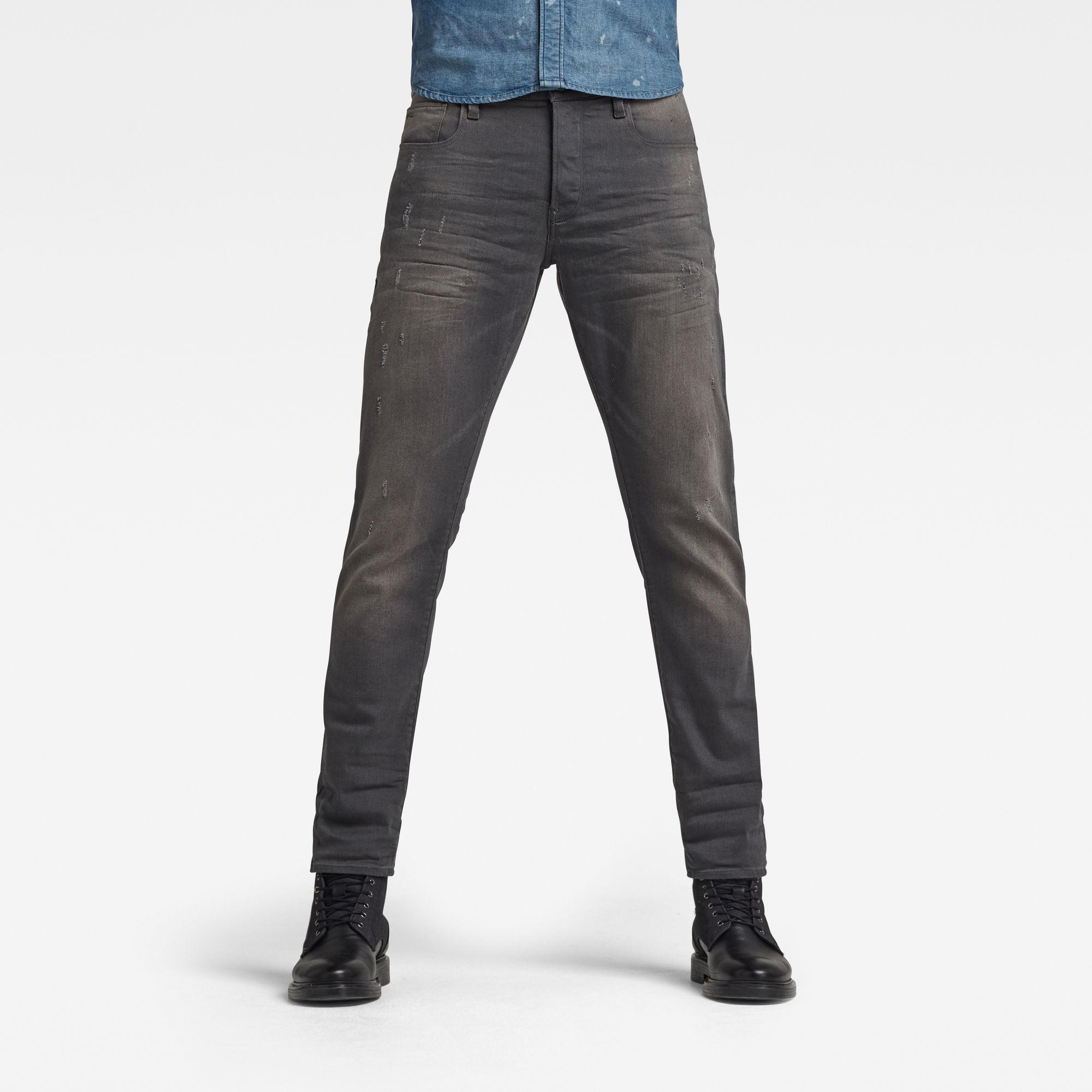G-Star RAW Heren 3301 Straight Tapered Jeans Lichtblauw