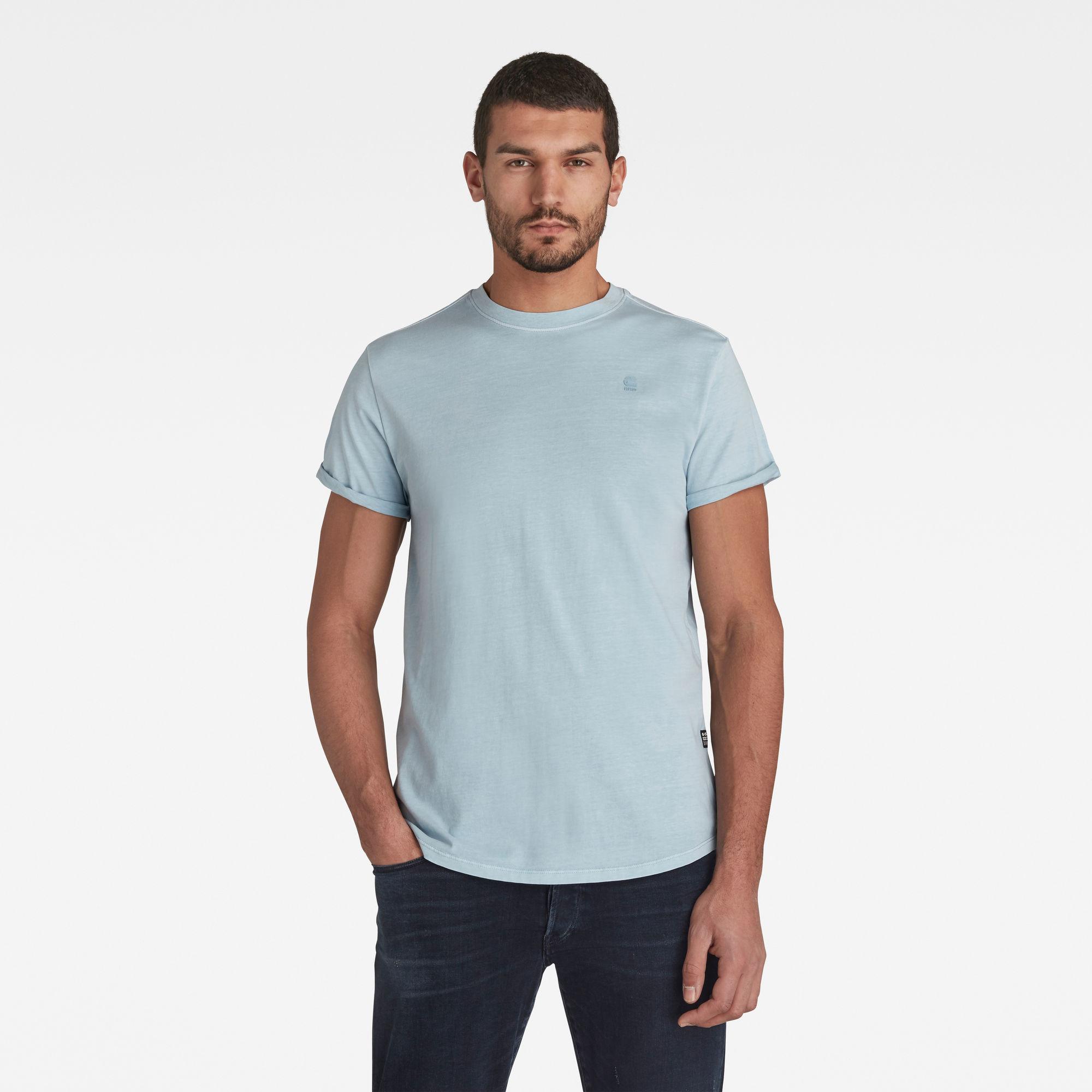G-Star RAW Heren Lash T-Shirt Blauw