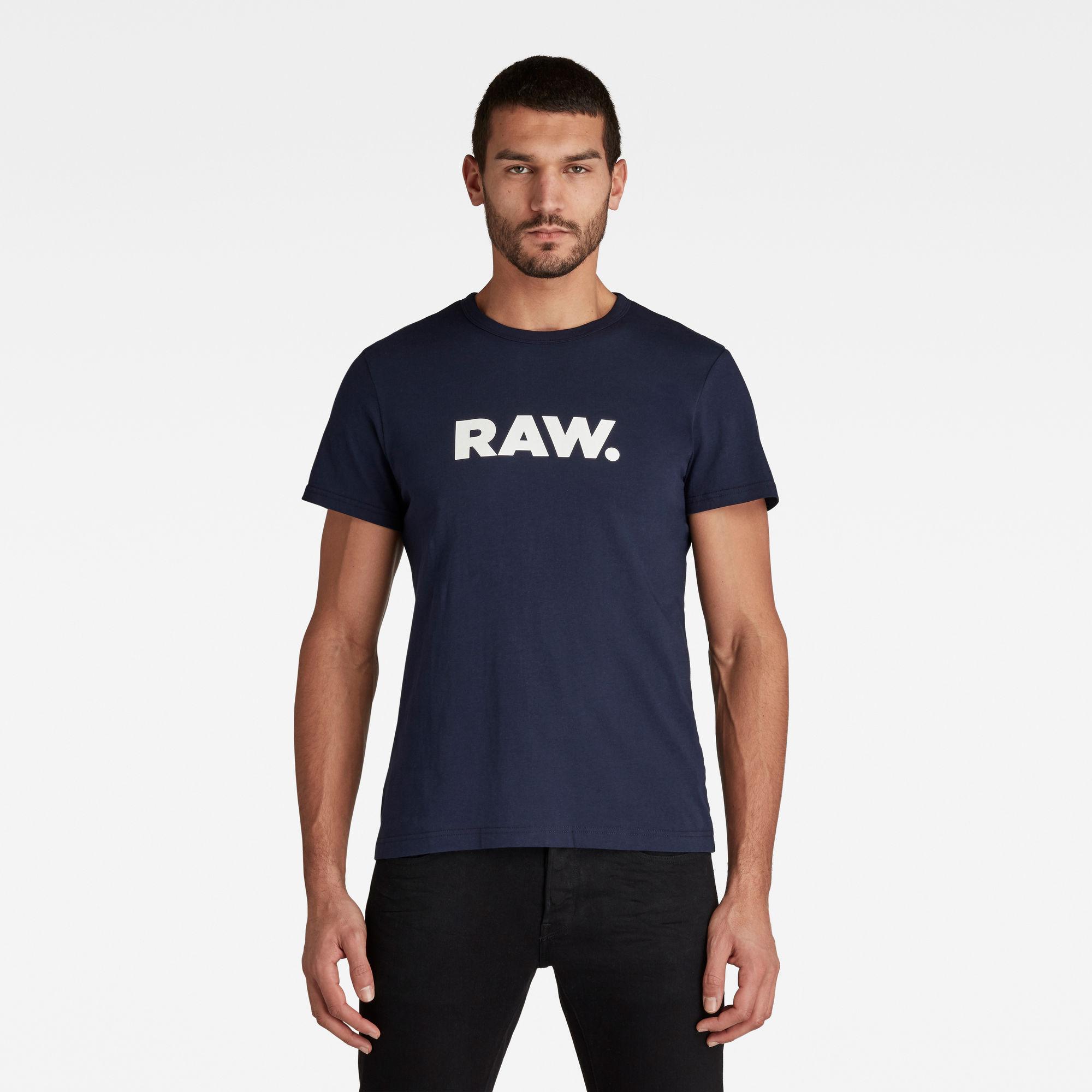 G-Star RAW Heren Holorn T-Shirt Donkerblauw