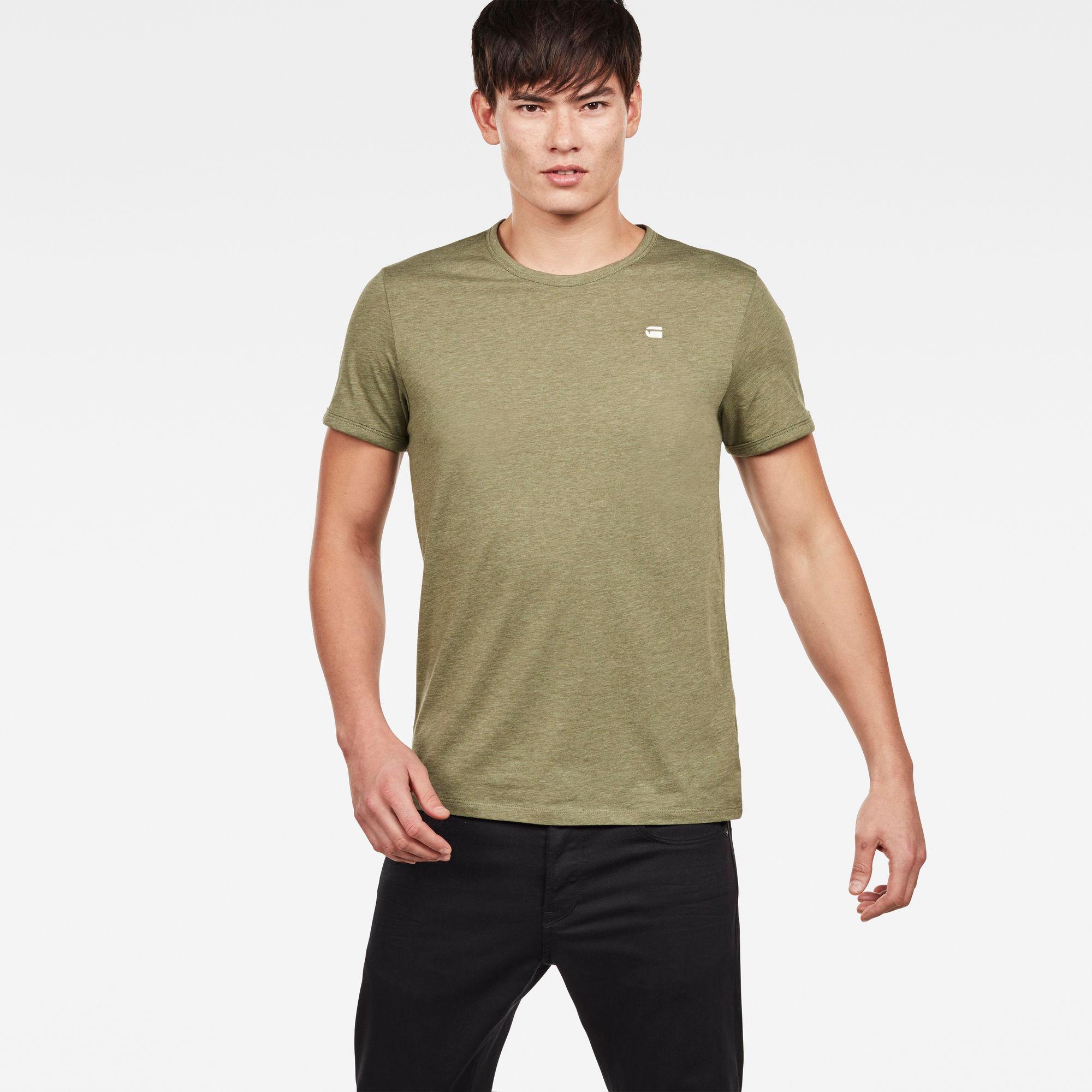 G-Star RAW Heren T-shirts Groen