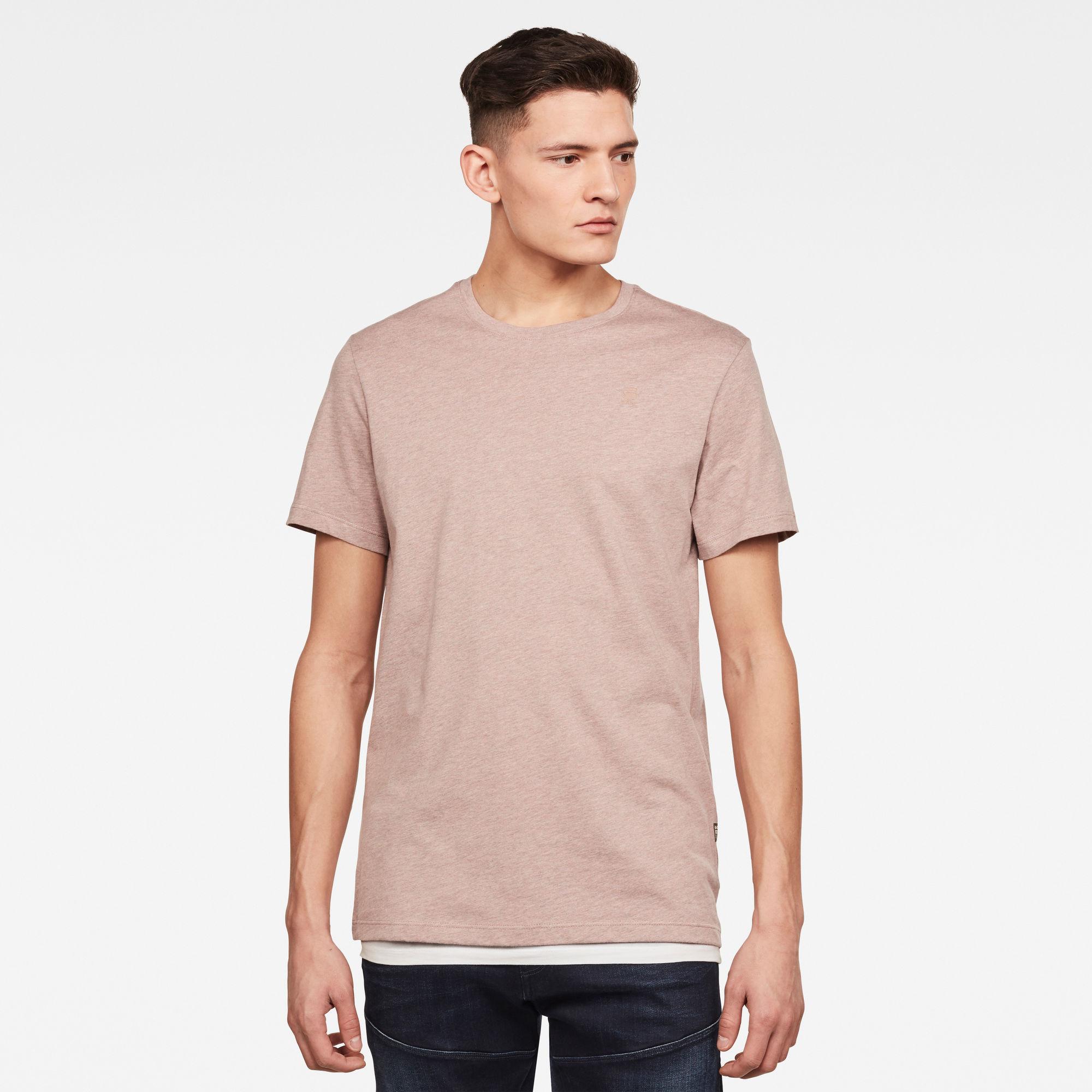 G-Star RAW Heren Base-S T-Shirt Bruin