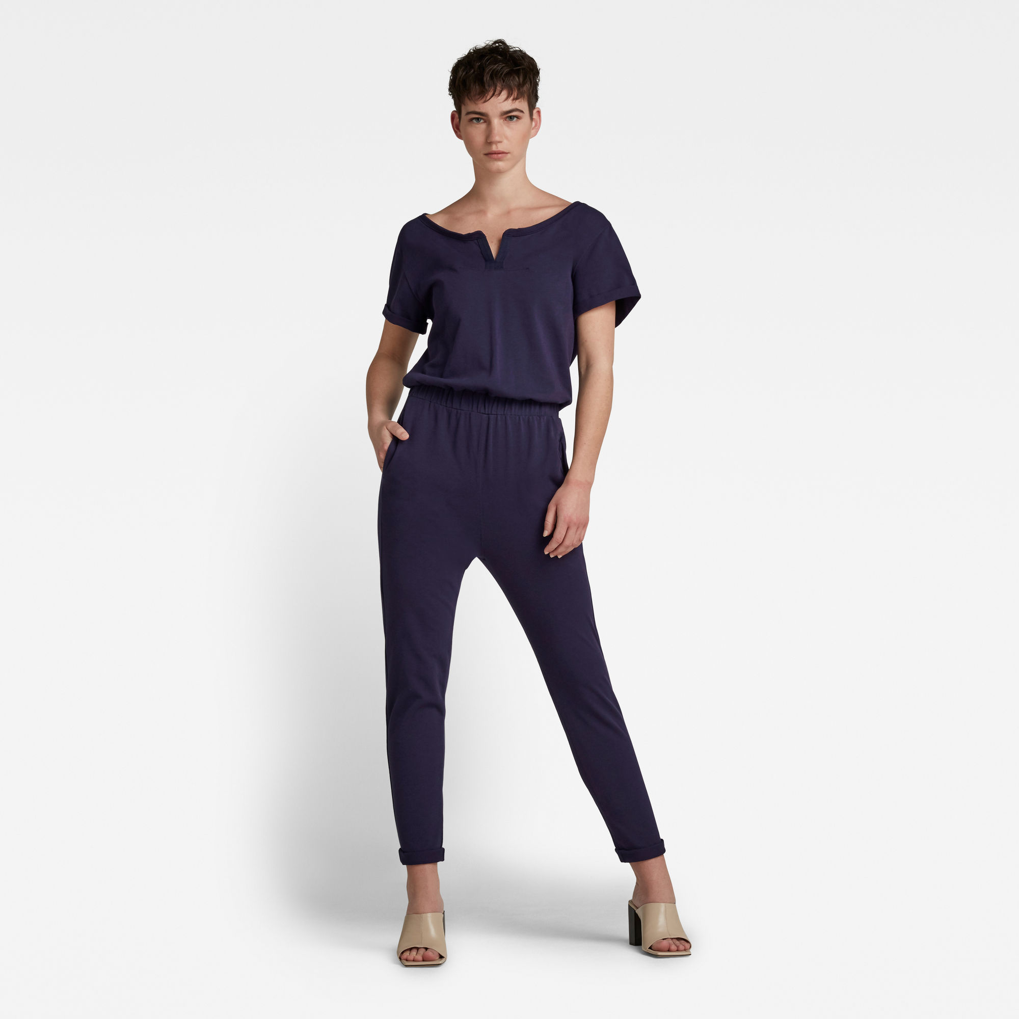G-Star RAW Dames Cocaux Suit Donkerblauw