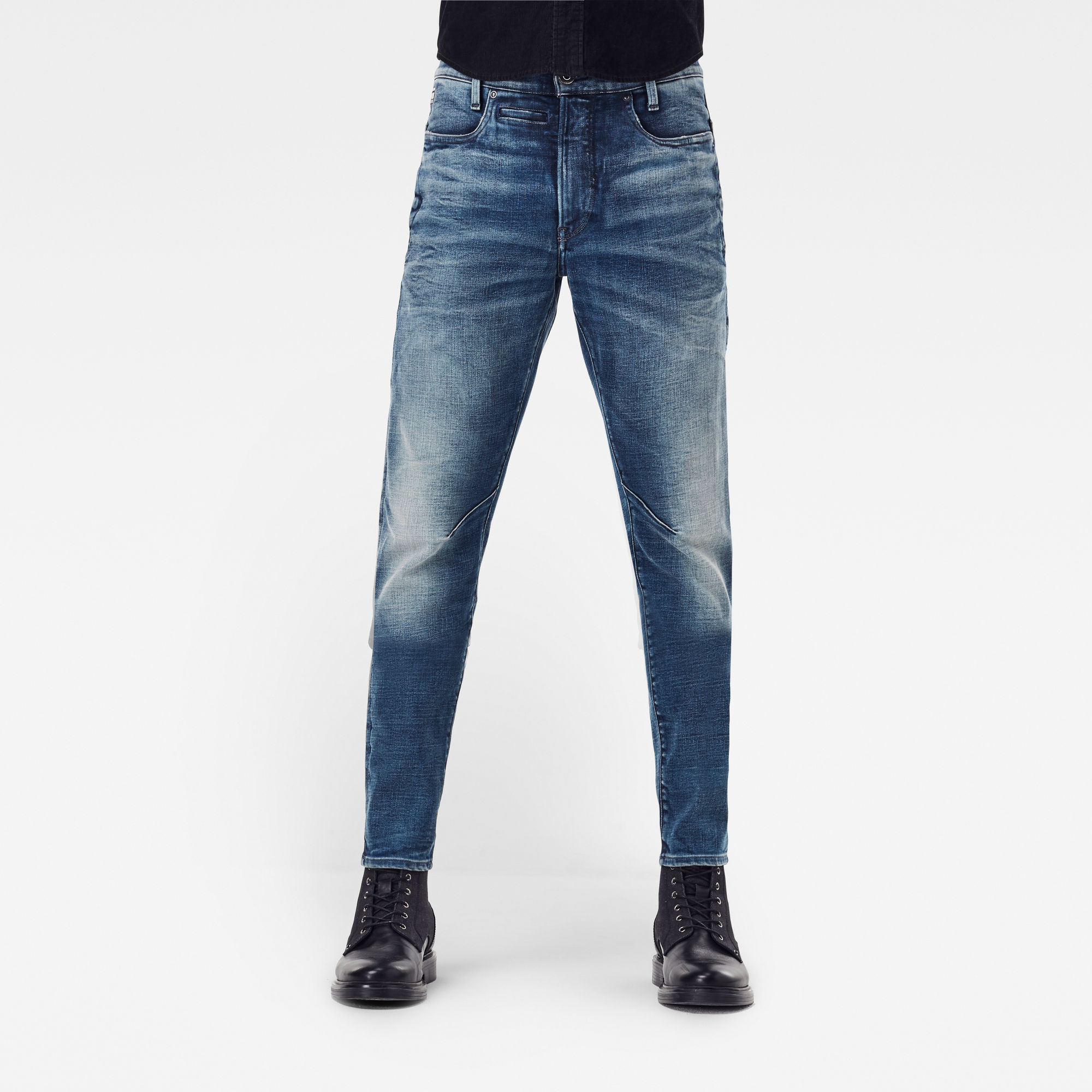 G-Star RAW Heren D-Staq 3D Slim Jeans Blauw