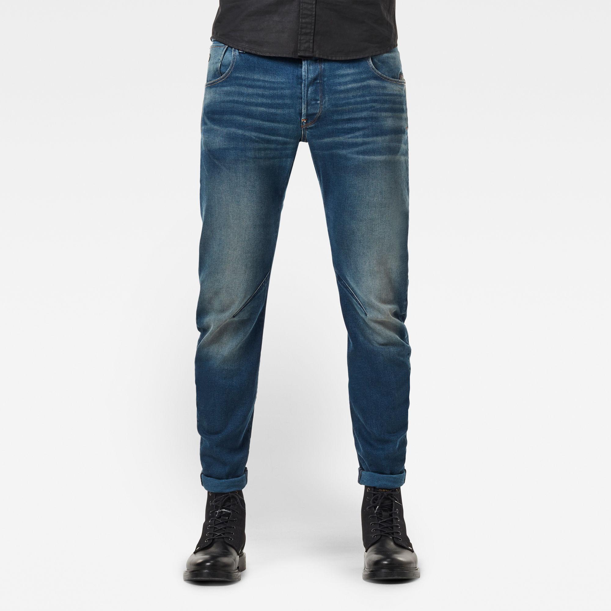G-Star RAW Heren Arc 3D Slim Jeans Blauw