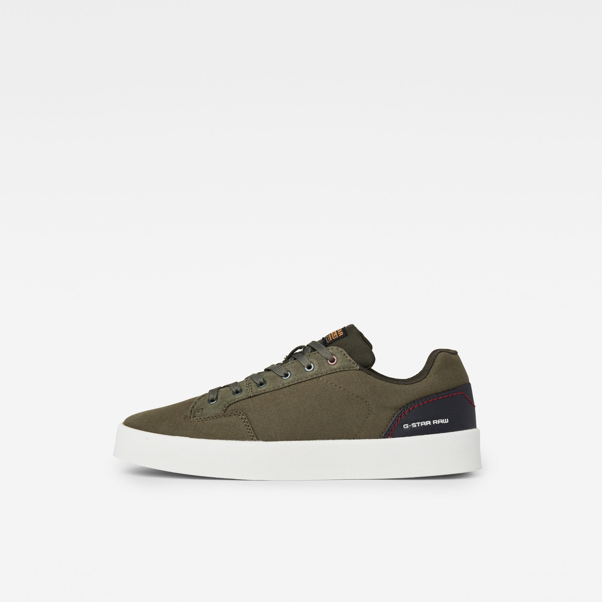 G-Star RAW Heren Ozone Sneakers Groen