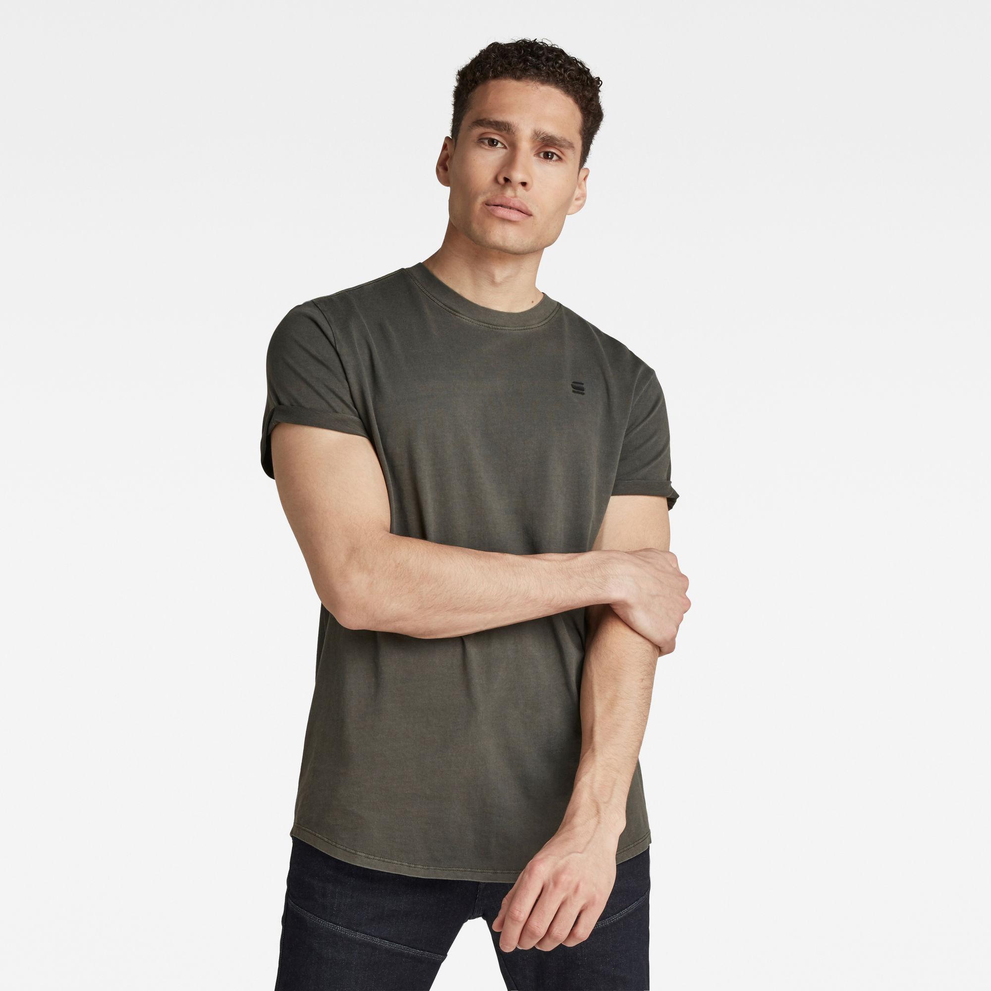 G-Star RAW Heren Lash T-Shirt Grijs