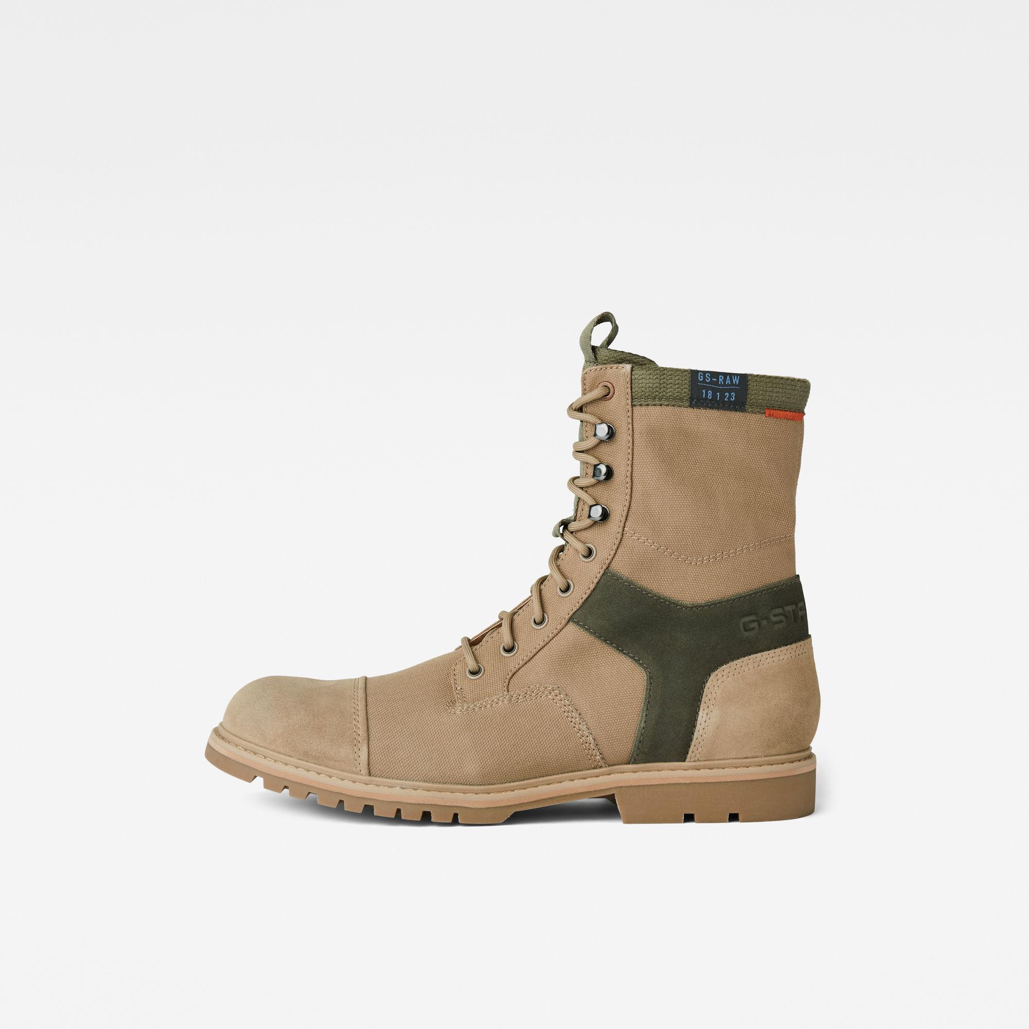 G-Star RAW Heren Tendric II Boots Beige