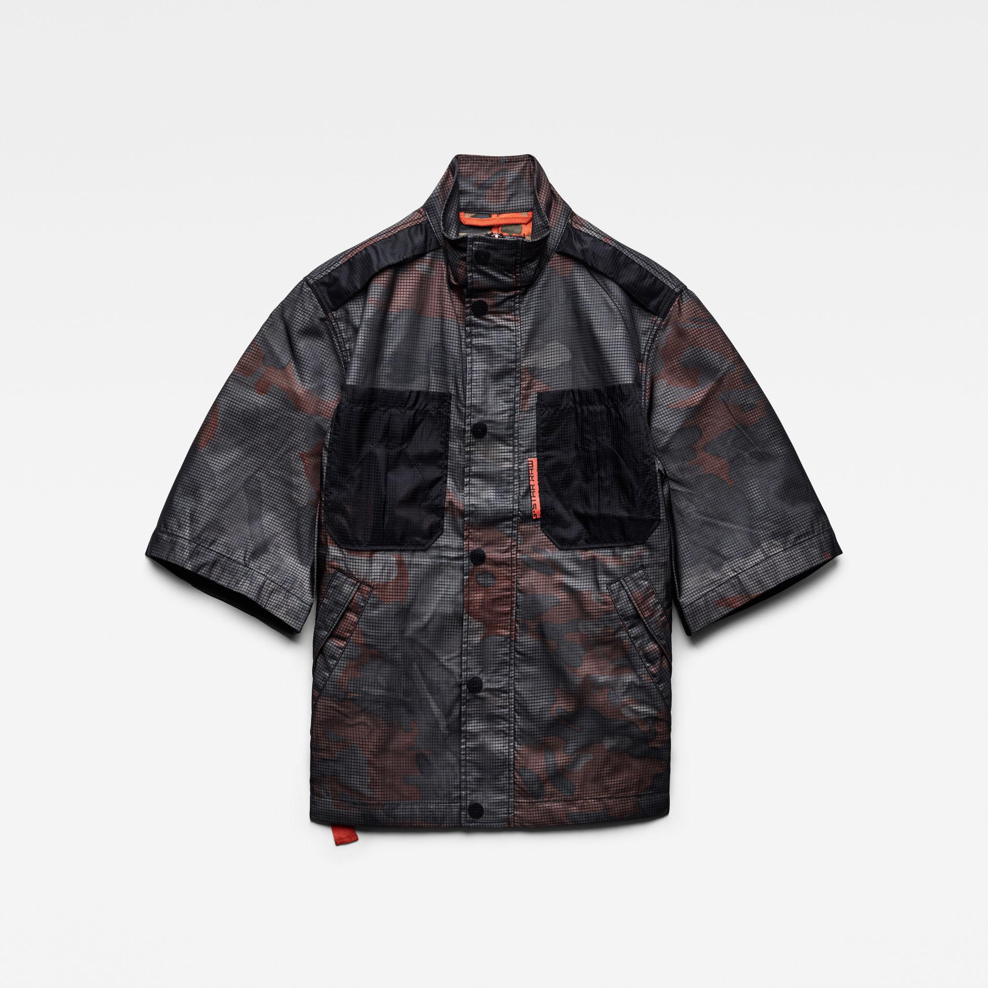 G-Star RAW Dames E Overshirt Zwart