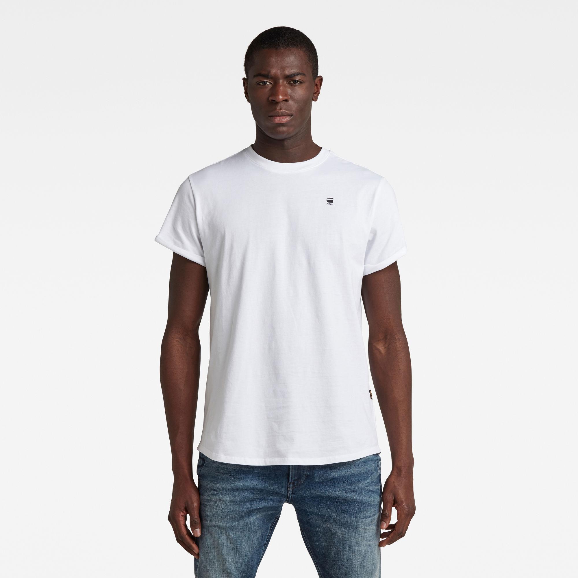 G-Star RAW Heren Lash T-Shirt Wit