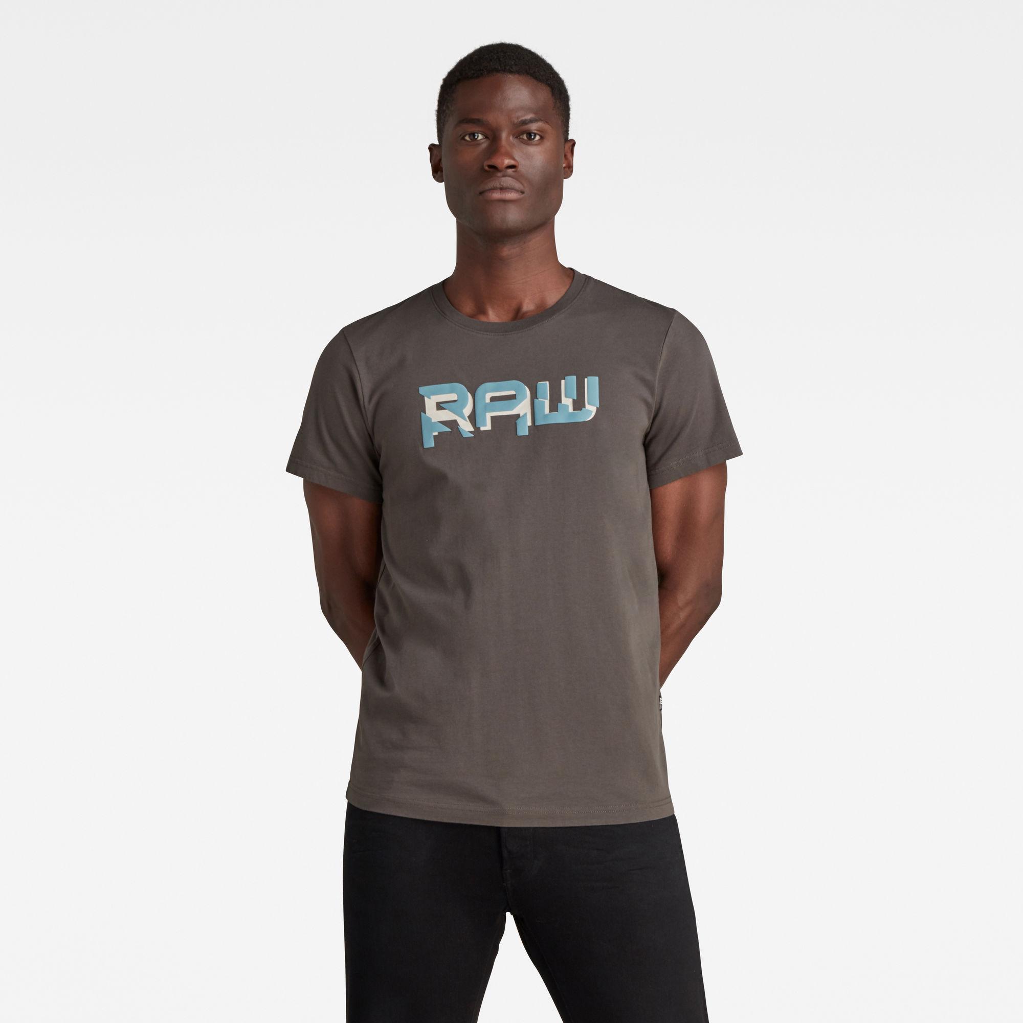 G-Star RAW Heren RAW. HD T-Shirt Grijs