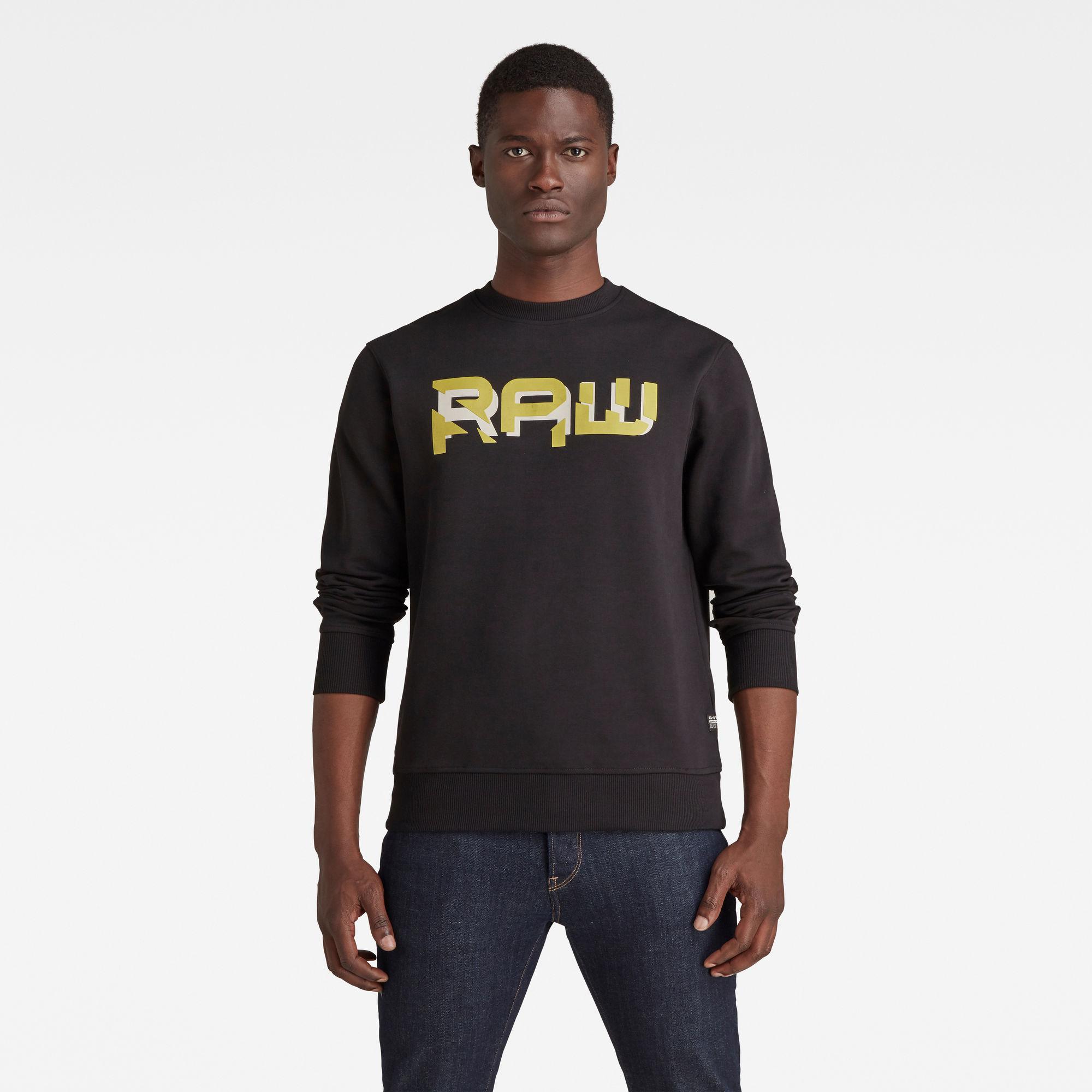 G-Star RAW Heren RAW. HD Sweater Zwart