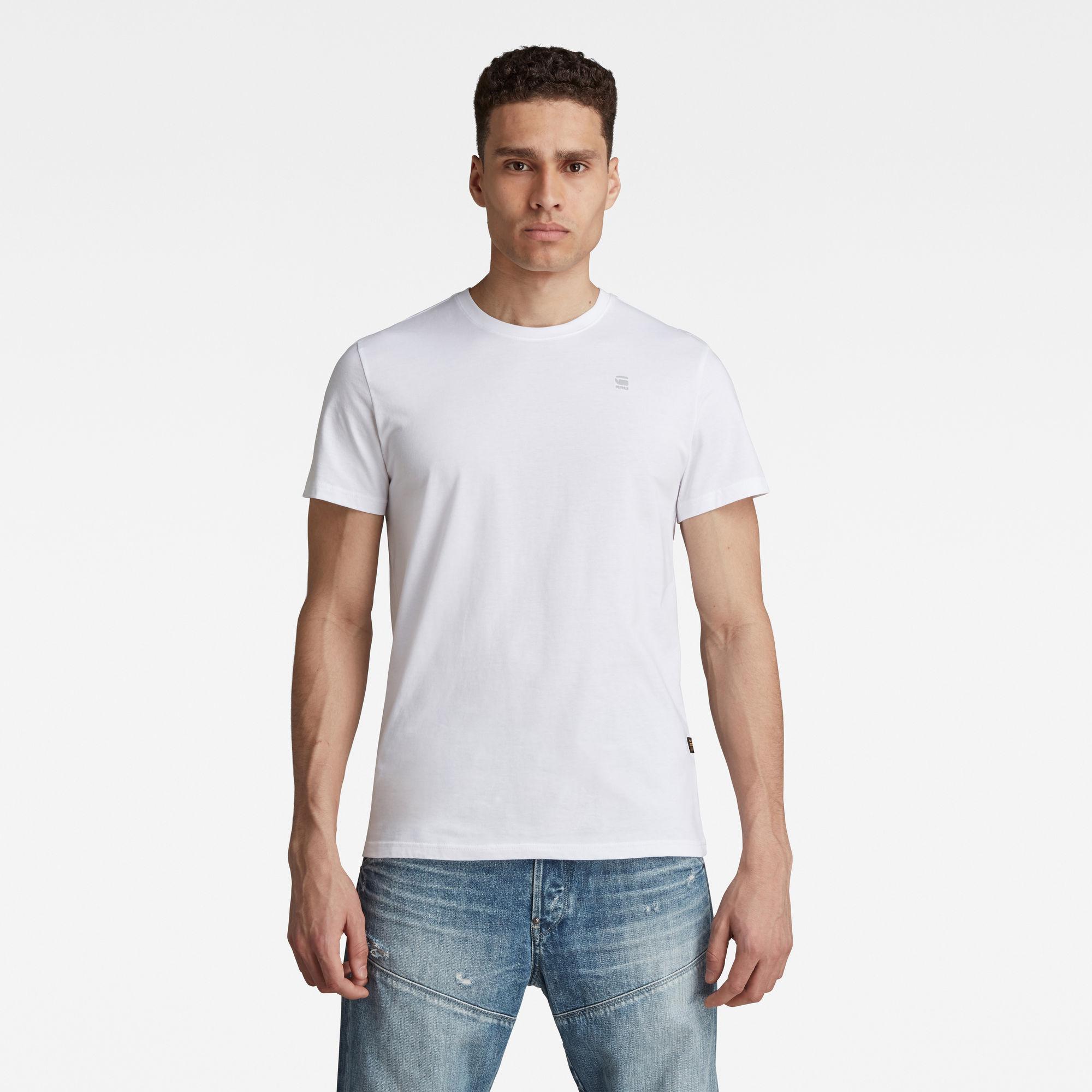 G-Star RAW Heren Base-S T-Shirt Wit
