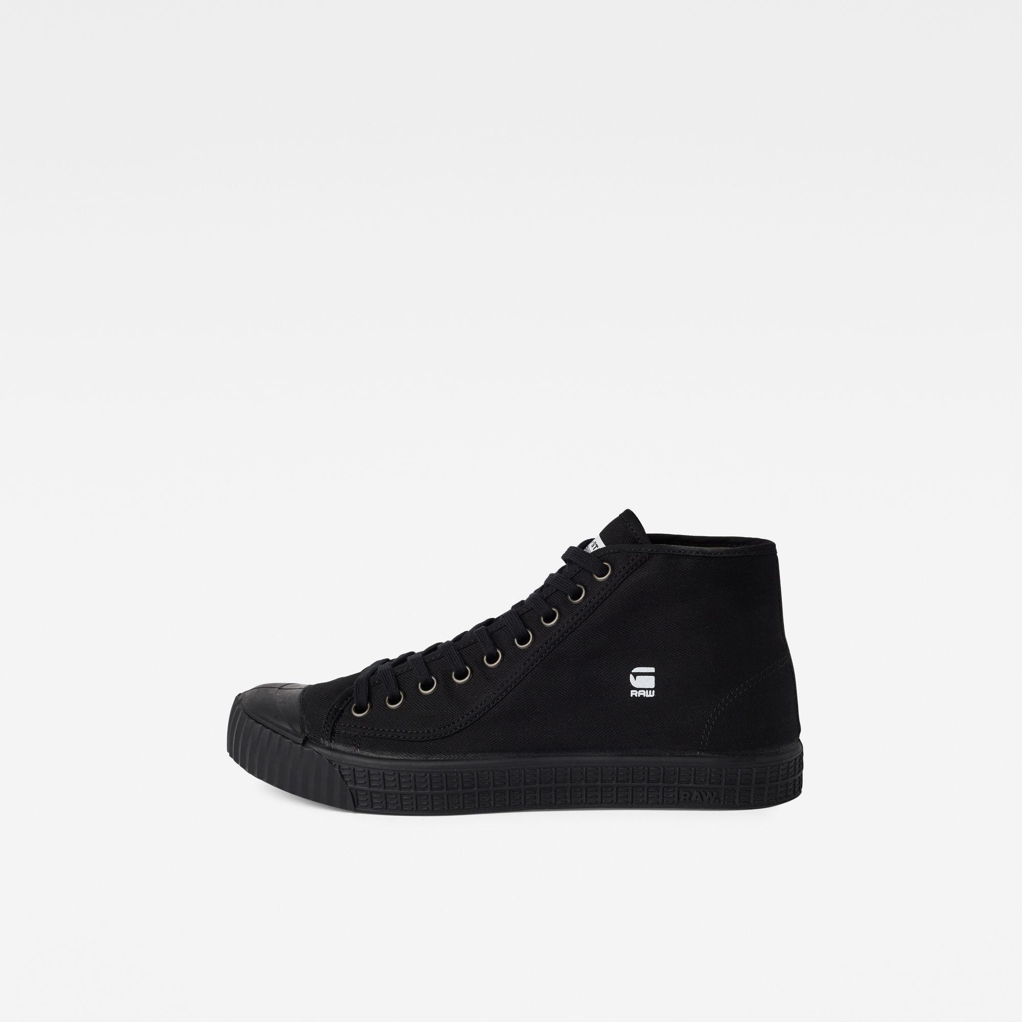 G-Star RAW Heren Rovulc HB Mid Sneakers Zwart