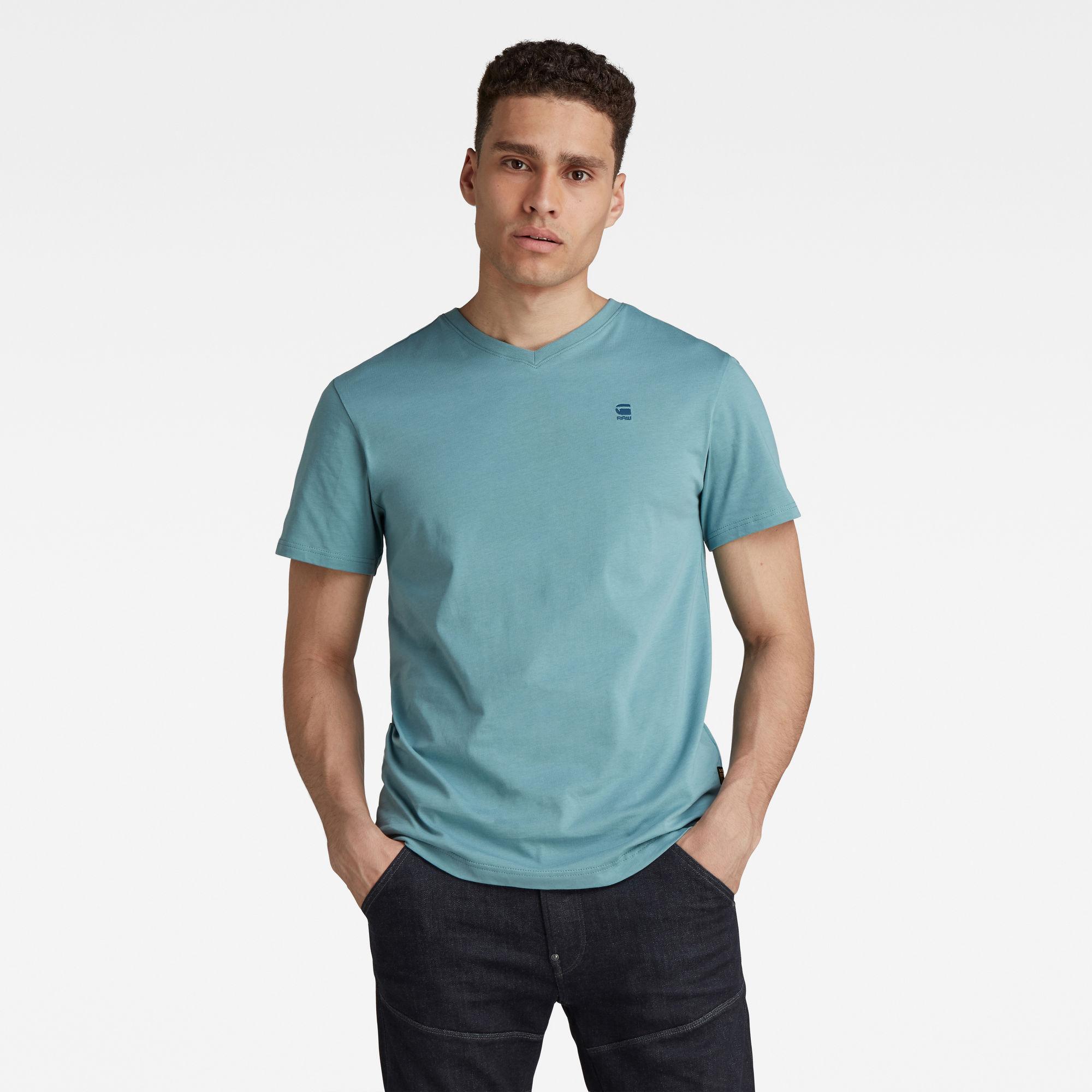 G-Star RAW Heren Base-S T-Shirt Grijs