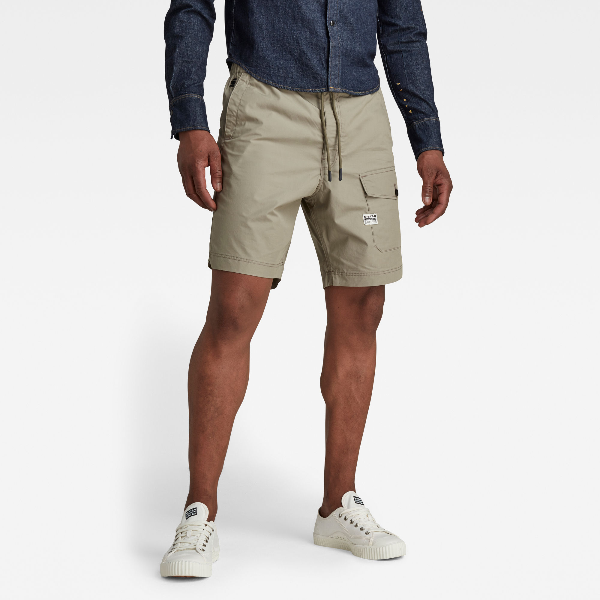 G-Star RAW Heren Front Pocket Sport Short Groen