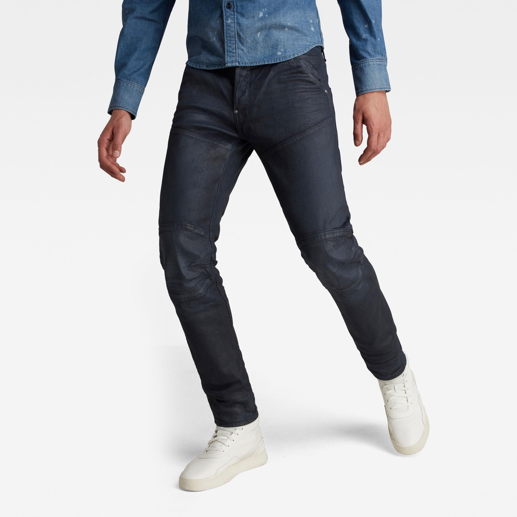 G-Star RAW Heren 5620 3D Slim Jeans Donkerblauw