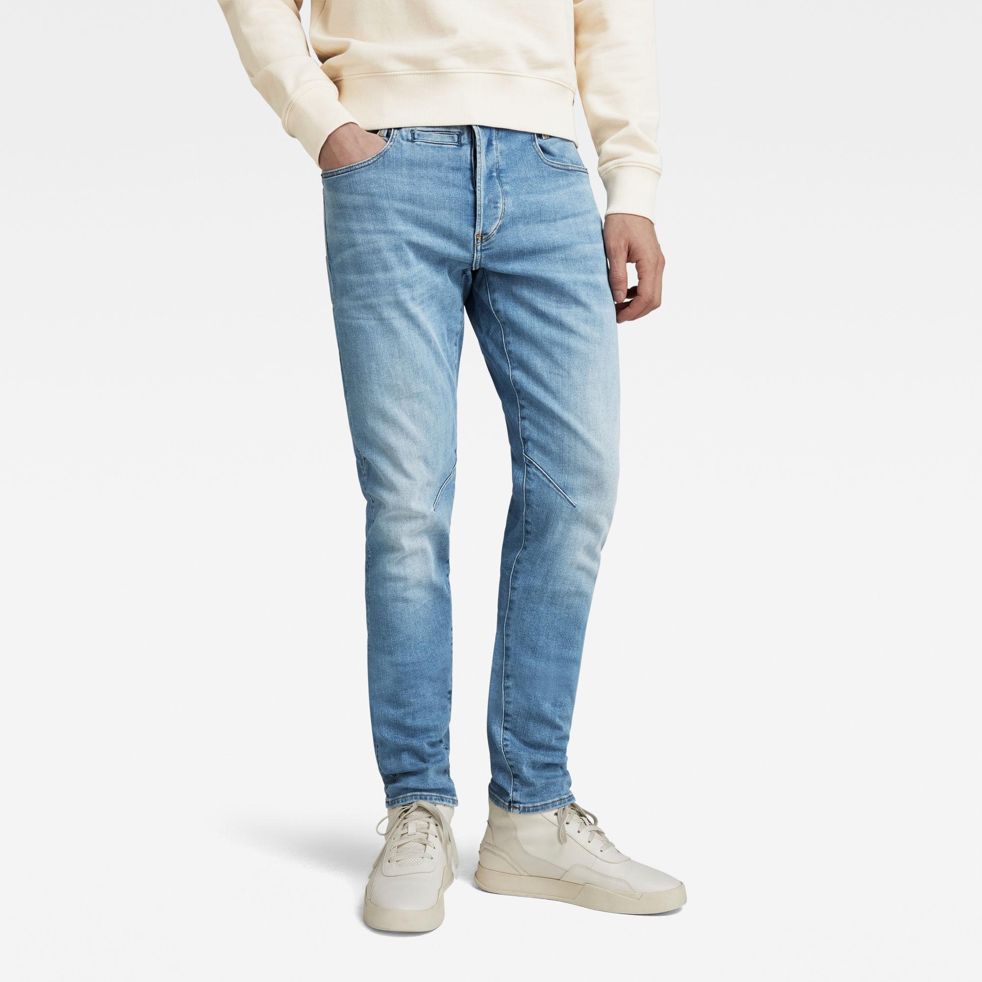 G-Star RAW Heren D-Staq 5-Pocket Slim Jeans Blauw