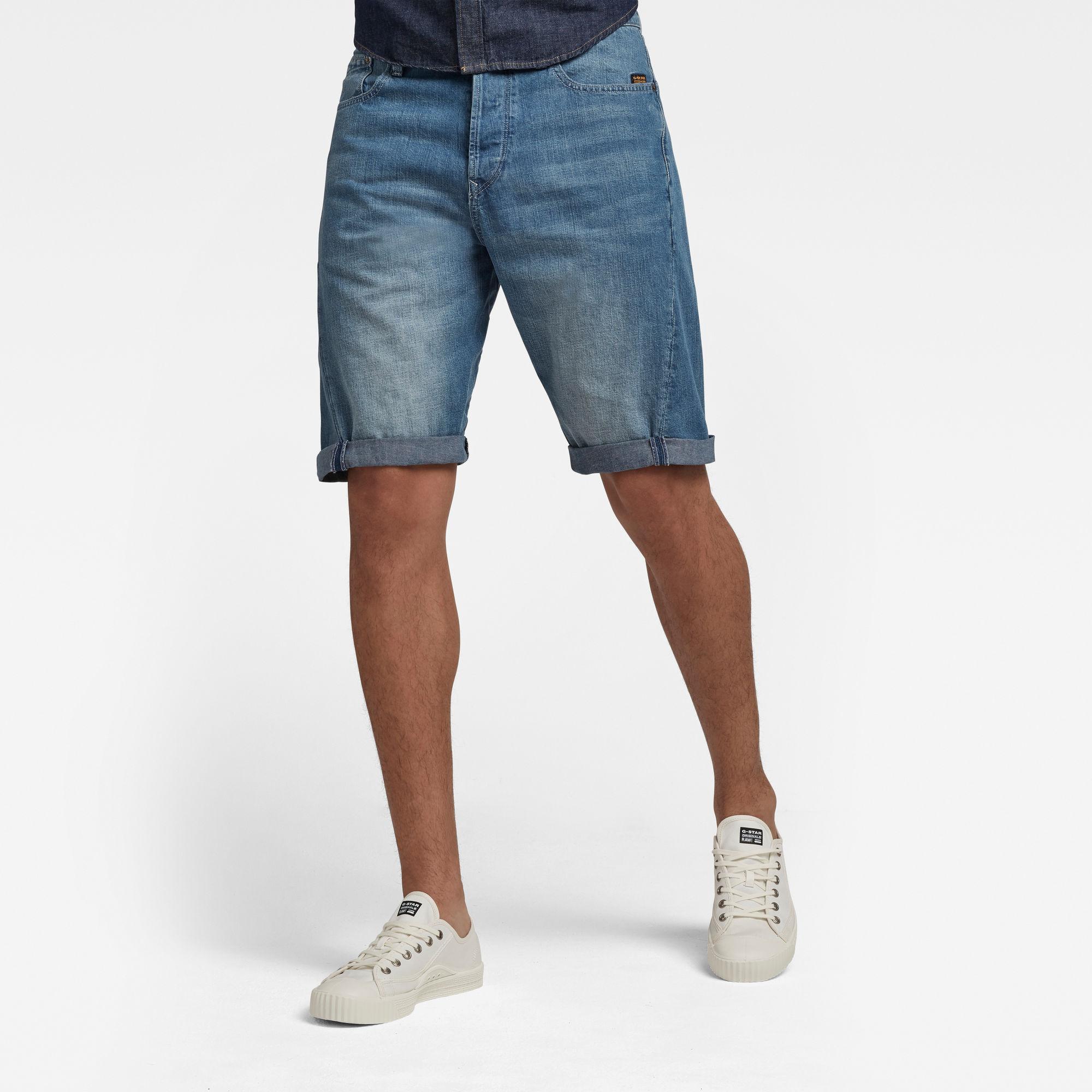 G-Star RAW Heren Scutar 3D Short Blauw